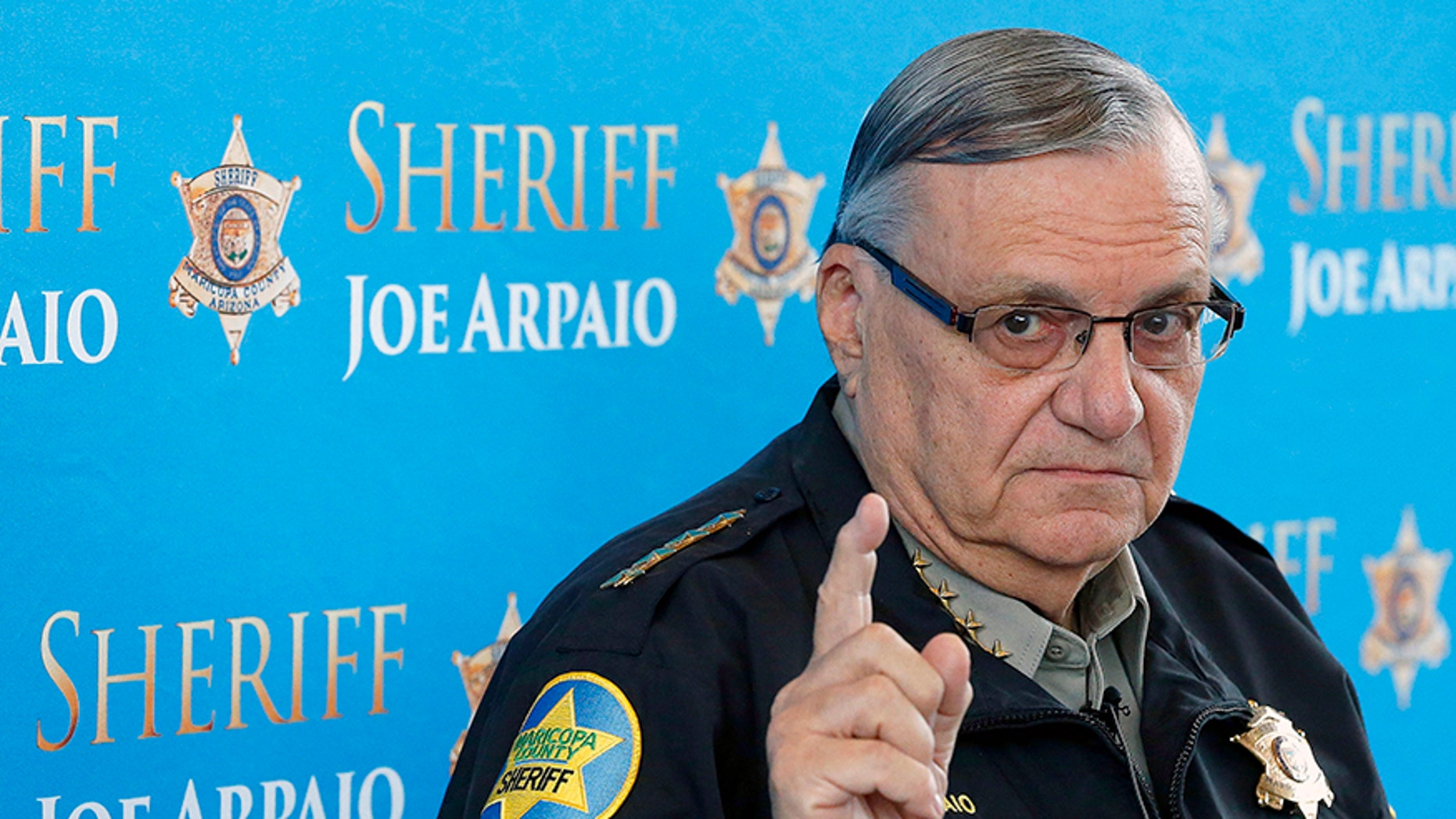 Former Maricopa County Sheriff Joe Arpaio, pictured in 2013, received a pardon from President Trump last year.