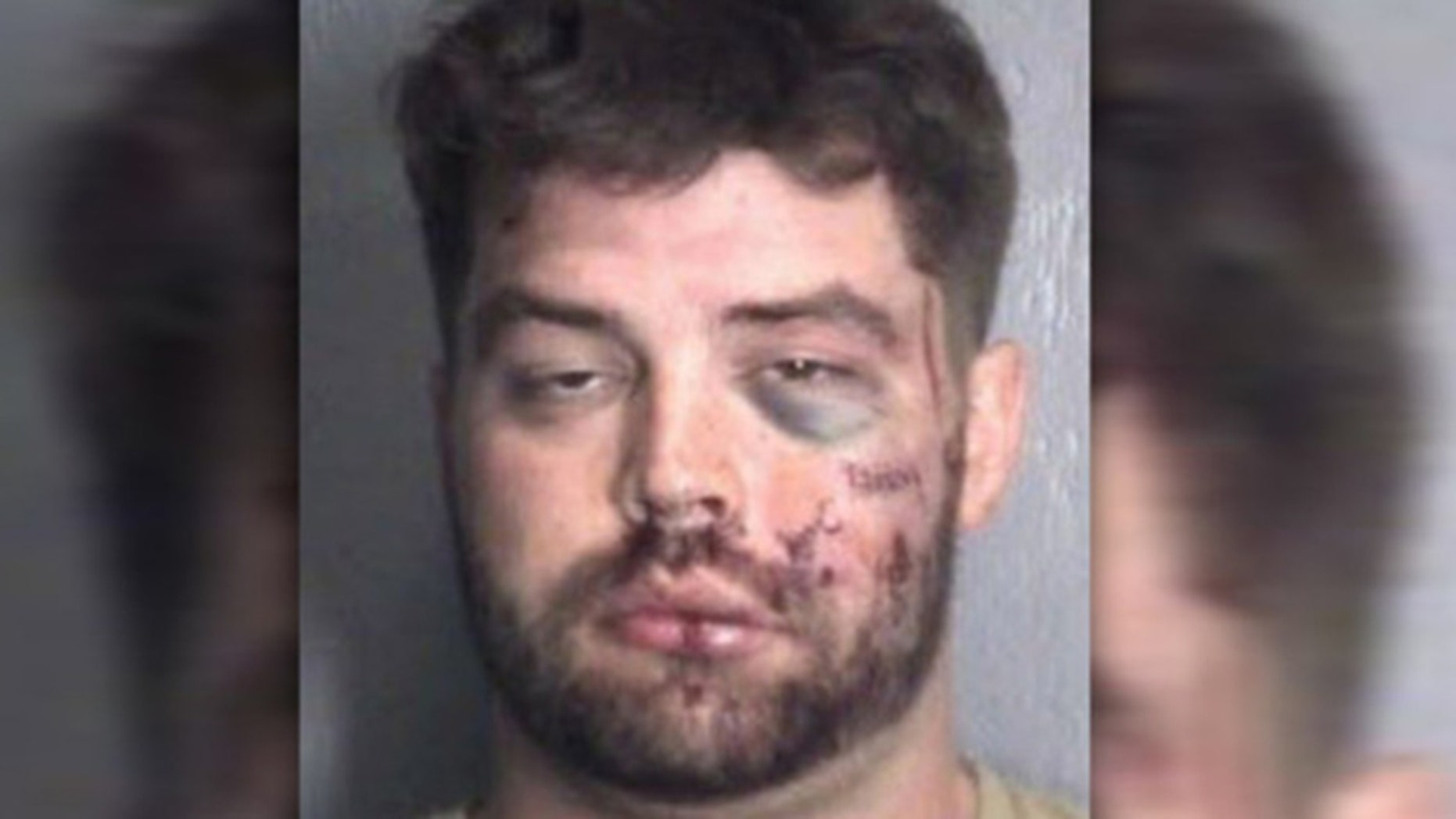 John Alexander Bracken is accused of breaking into a home and getting into a fight with a resident.