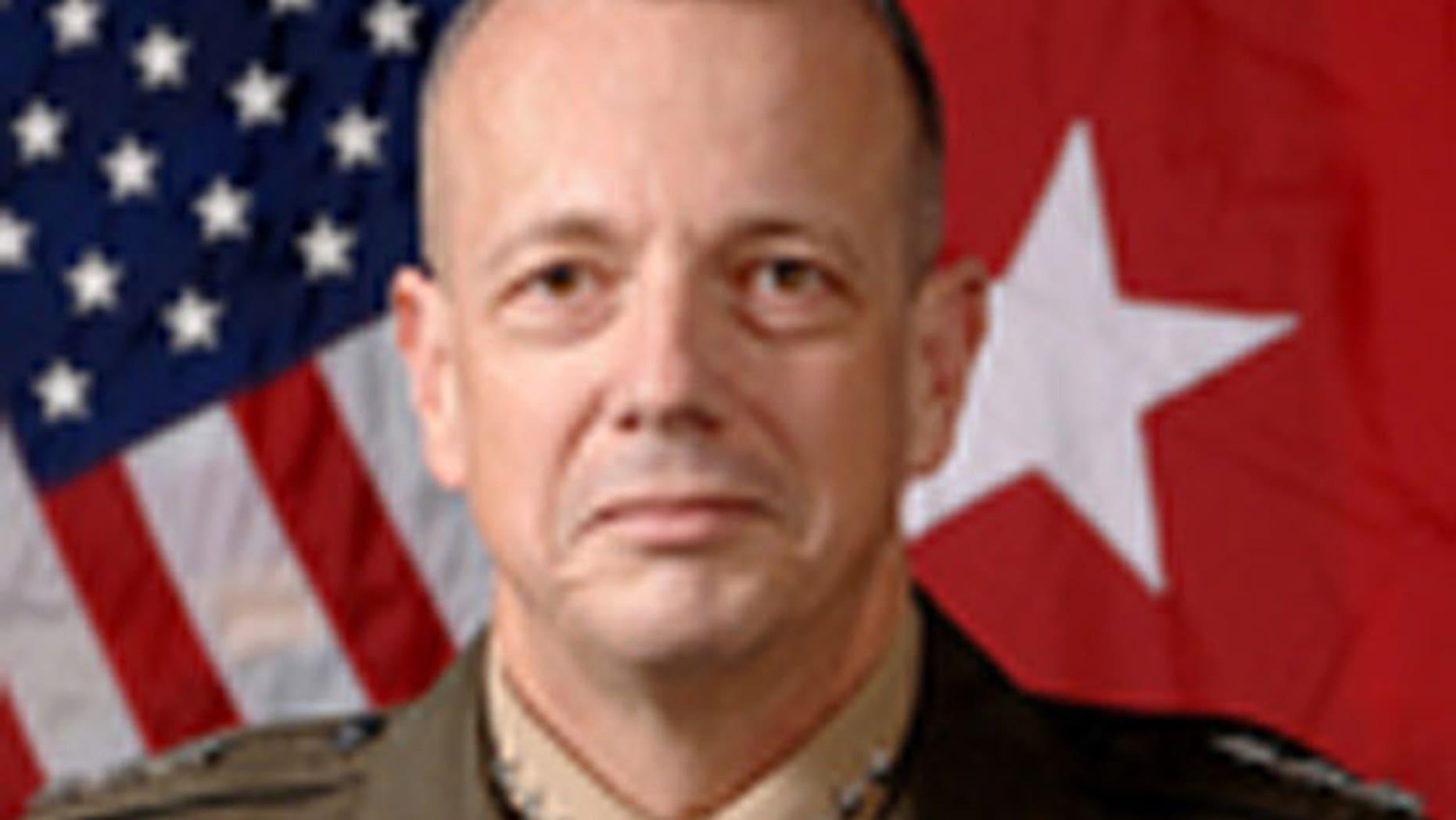 Lt. Gen. John Allen, the deputy commander of U.S. Central Command in Florida, will take over Gen. David Petraeus' duties as U.S. commander in Afghanistan. (Pentagon)