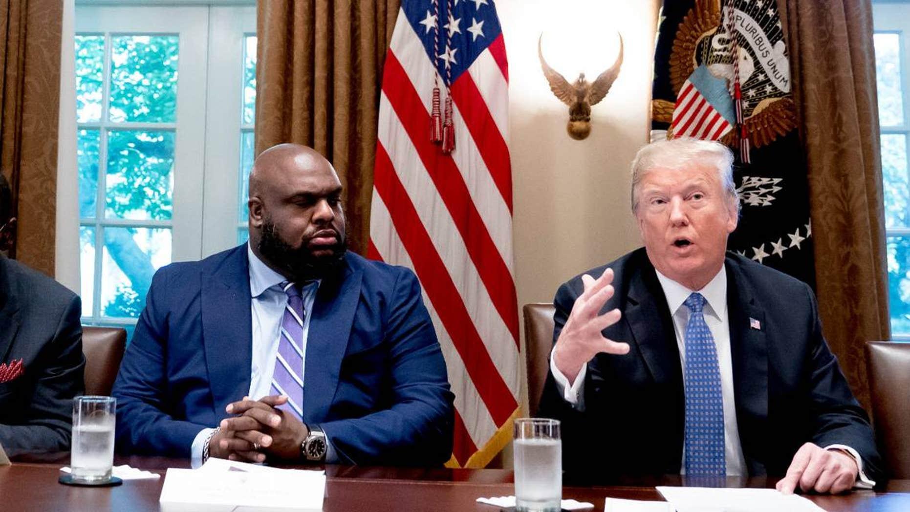 Black pastors see Trump bringing 'new hope' -- but still