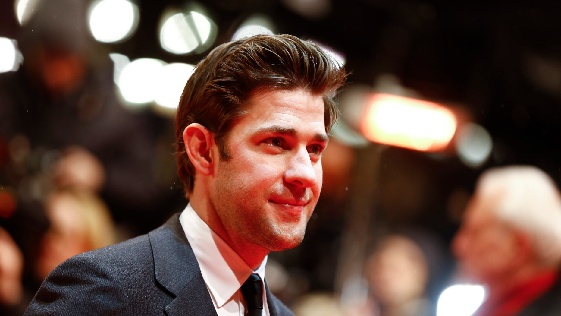 Actor John Krasinski arrives for the screening of the film 'Promised Land' at the 63rd Berlinale International Film Festival in Berlin February 8, 2013.