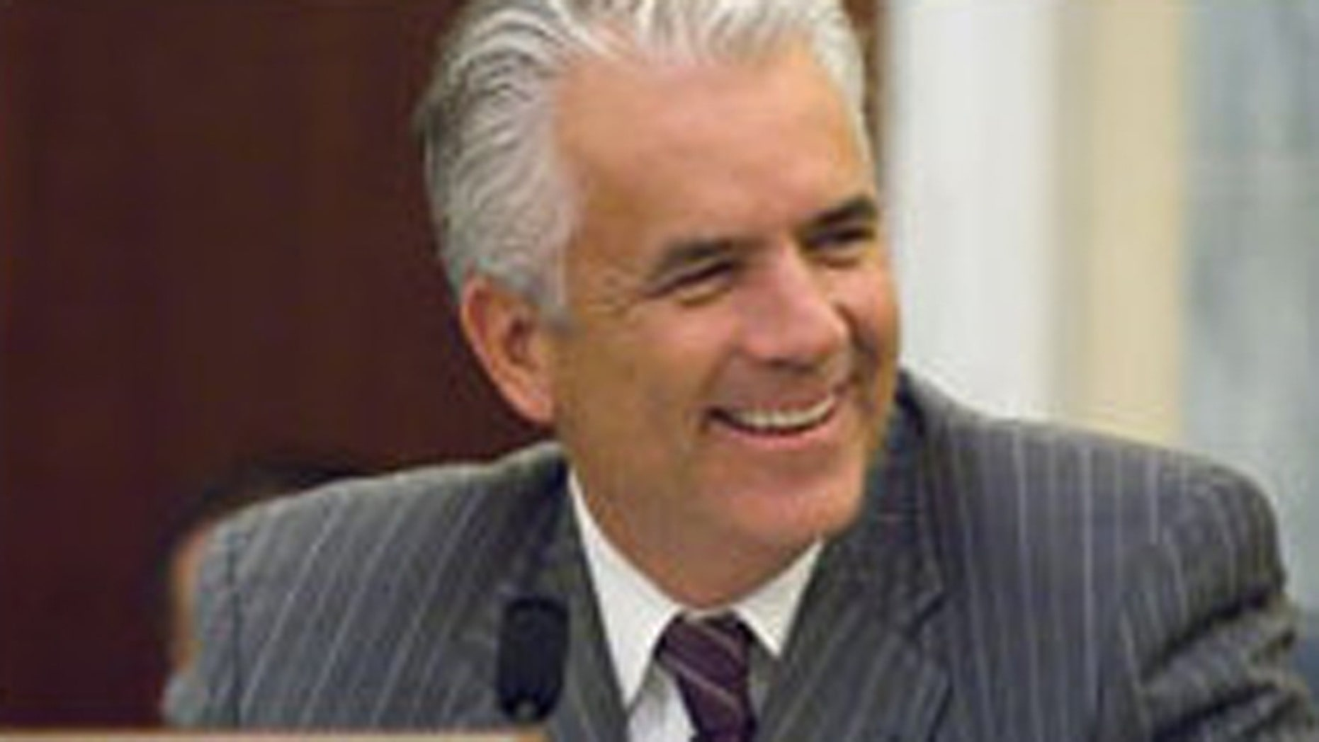 Sen. John Ensign, shown here in an undated photo, says Nevada should not ban prostitution and local governments should decide the fate of the world's oldest profession.