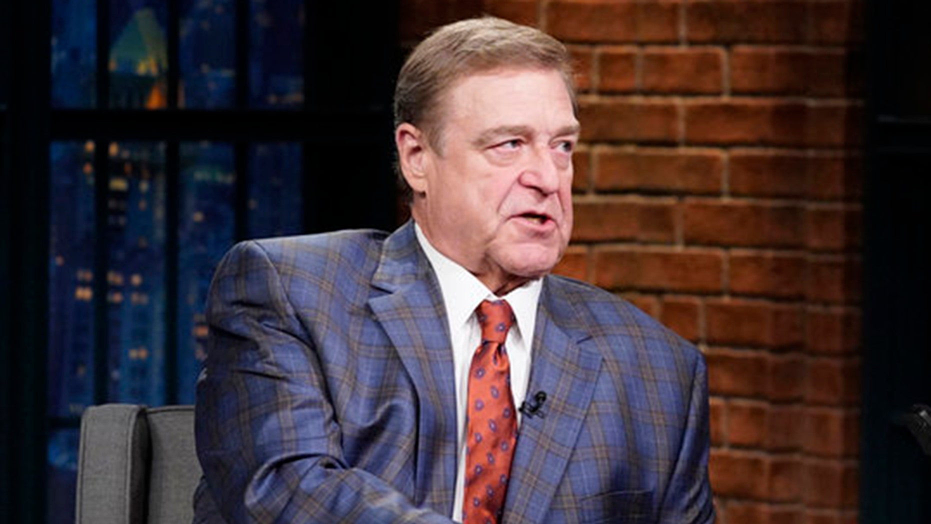 John Goodman, pictured here during an appearance on 'Late Night With Seth Meyers,' will star in a new HBO series about televangelists.