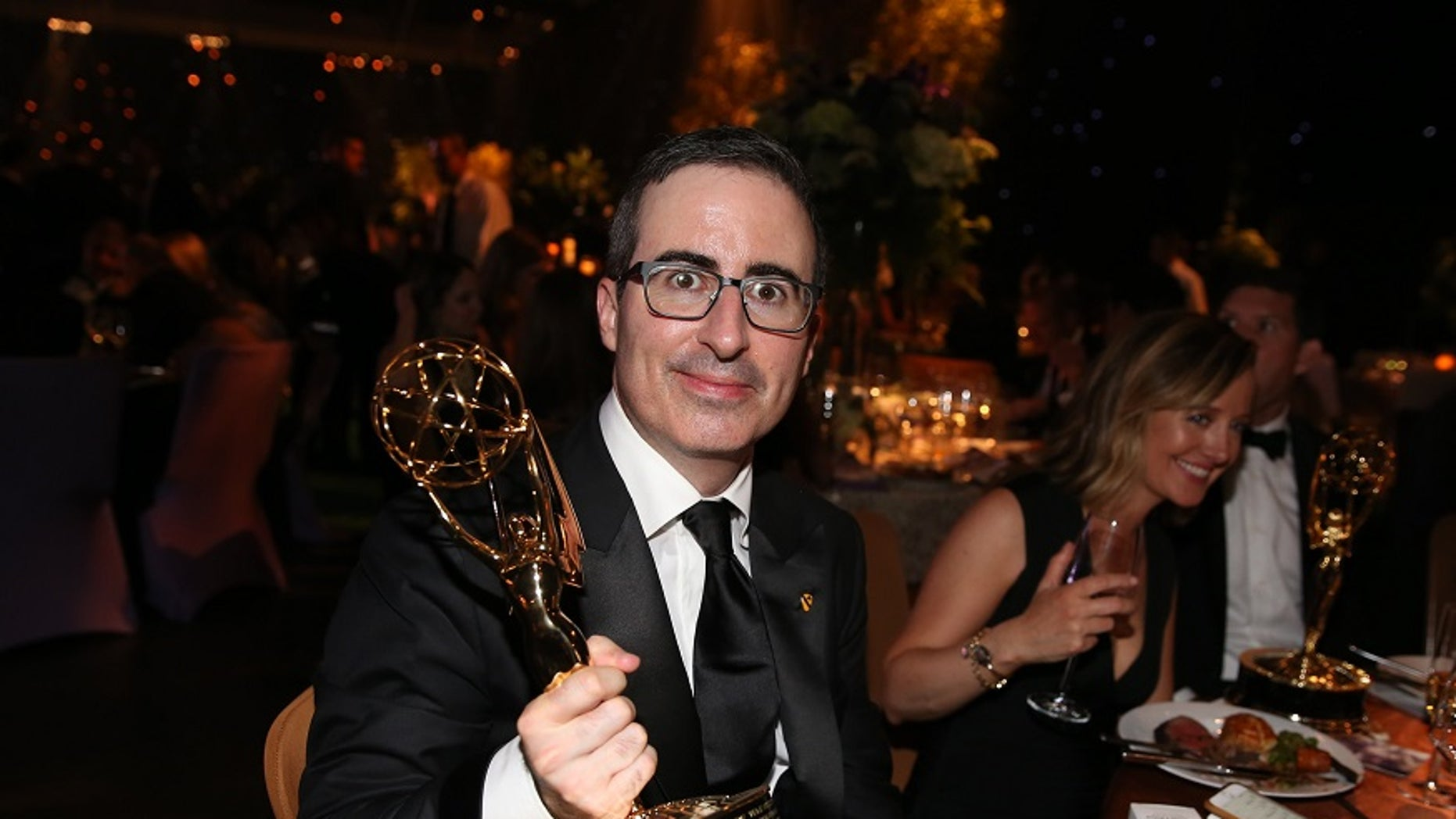 """John Oliver, the host of HBO's """"Last Week Tonight,"""" has been sued by Robert E. Murray, the head of the country's largest private coal mining company, over a segment the comedian did on coal on Sunday, June, 18, 2017."""