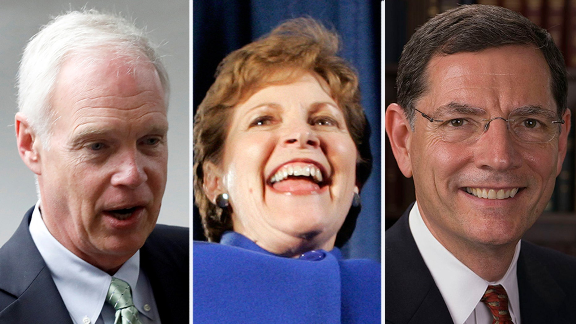"""A bipartisan trip to Russia that included Sens. Jeanne Shaheen, Ron Johnson and John Barrasso, was canceled after Shaheen's visa requests was denied over a  'black list."""""""
