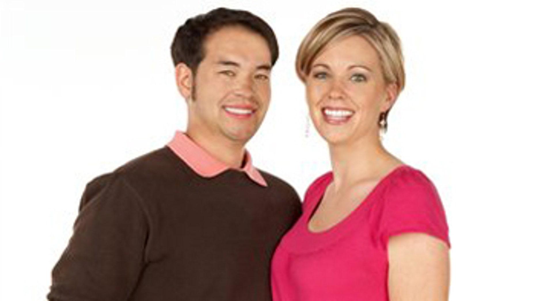 """Jon Gosselin, left, and his wife Kate Gosselin, from the TLC series, """"Jon & Kate Plus 8."""""""
