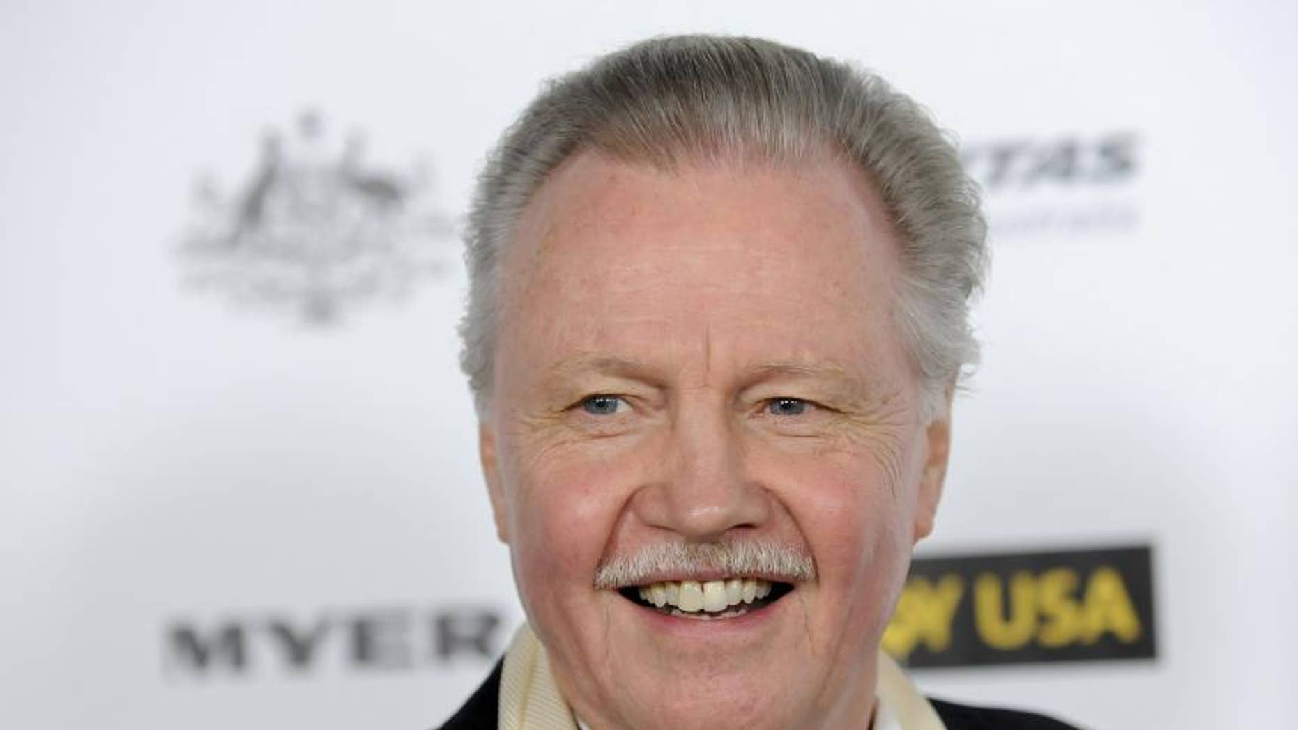 Jon Voight is a vocal conservative in Hollywood and a supporter of the president.