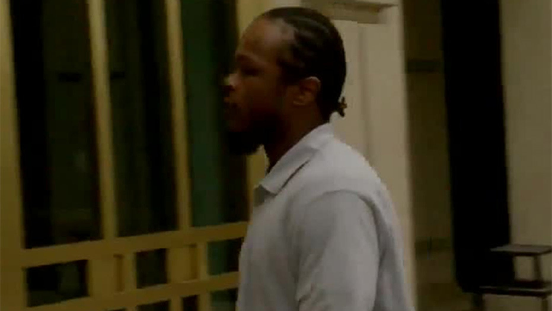 Jordan Hancock during a court appearance Monday.