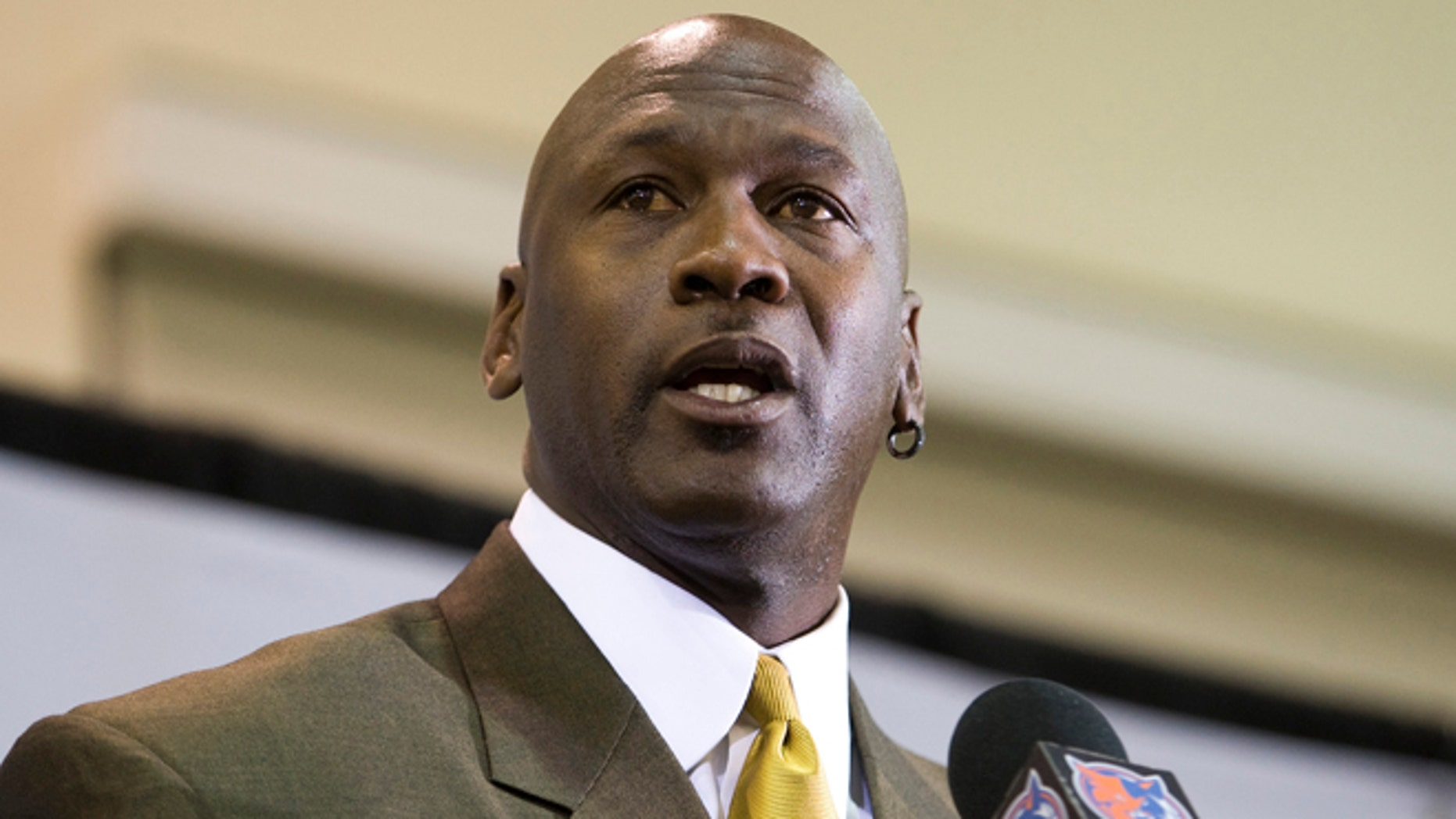 March 18, 2010: Charlotte Bobcats majority owner Michael Jordan speaks during a news conference in Charlotte, N.C.