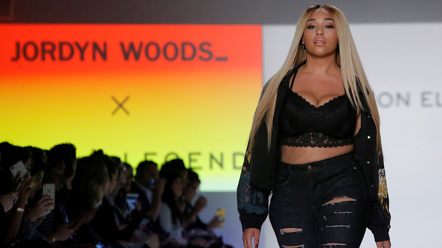 Jordyn Woods collaborates with Canadian retailer Addition Elle.