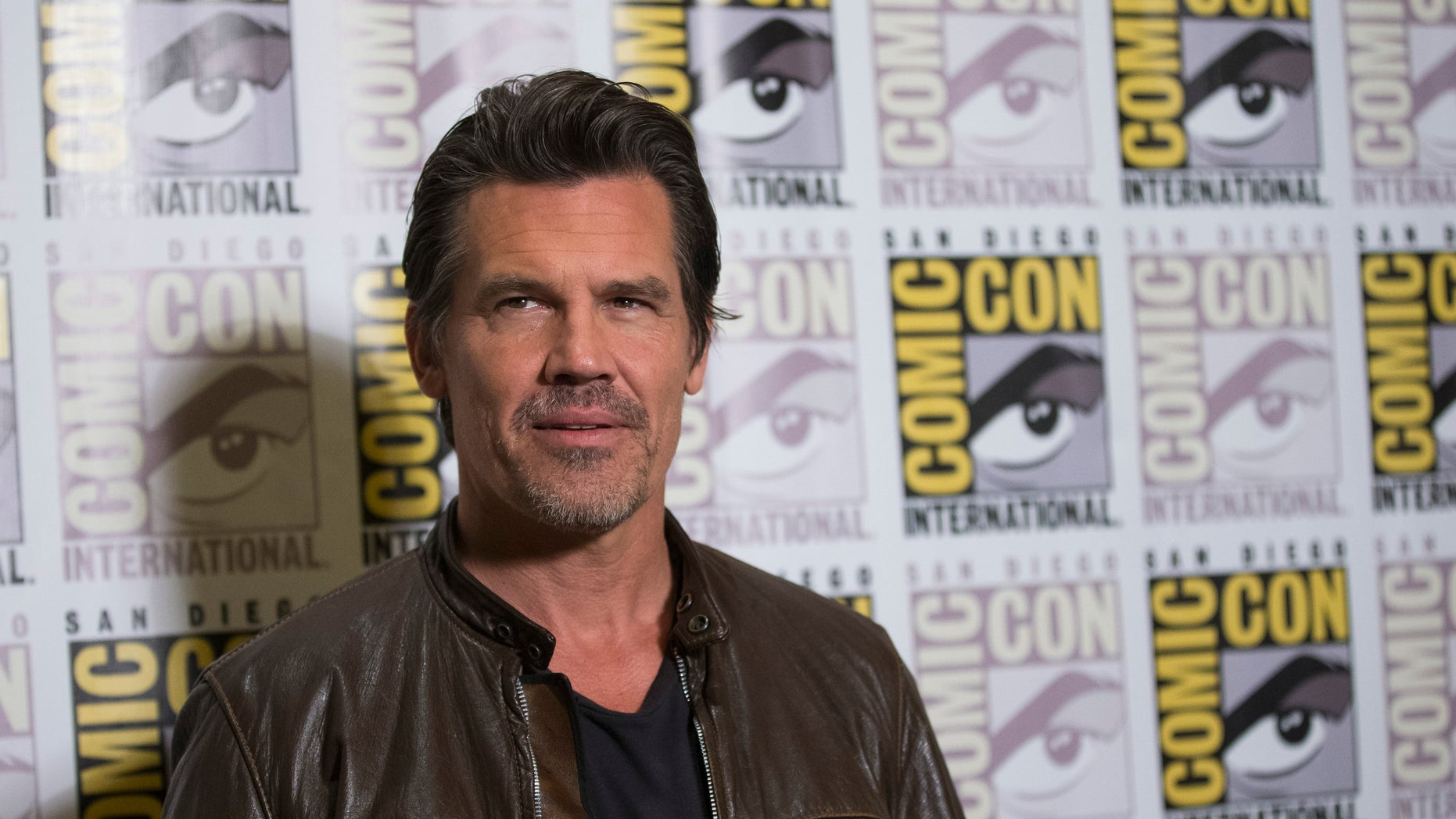 "Cast member Josh Brolin poses at a press line for ""Sin City: A Dame to Kill For"" during the 2014 Comic-Con International Convention in San Diego, California July 26, 2014."