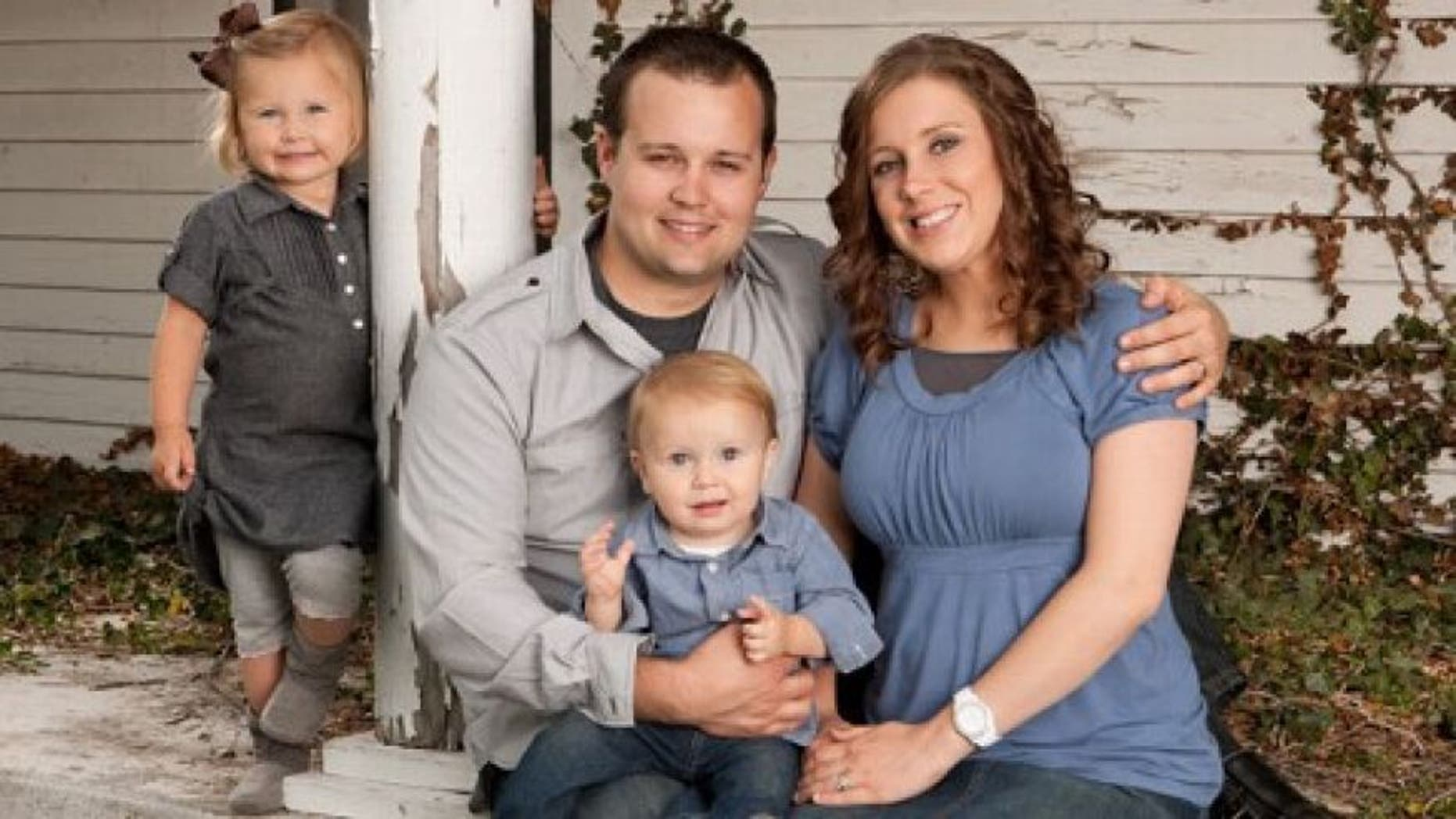 Josh and Anna Duggar and family.