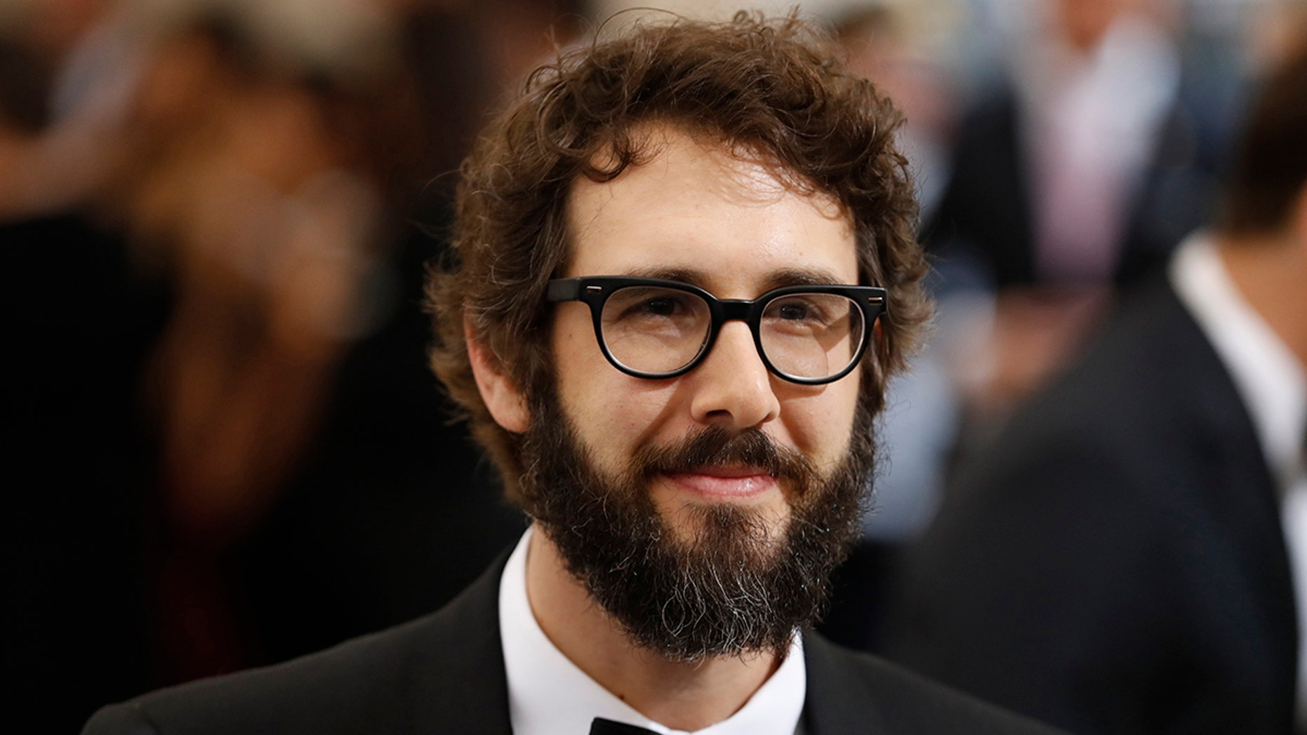 Singer Josh Groban, pictured here at the Metropolitan Museum of Art Costume Institute Gala in 2017, recently tweeted from the scene of the New York crash incident.