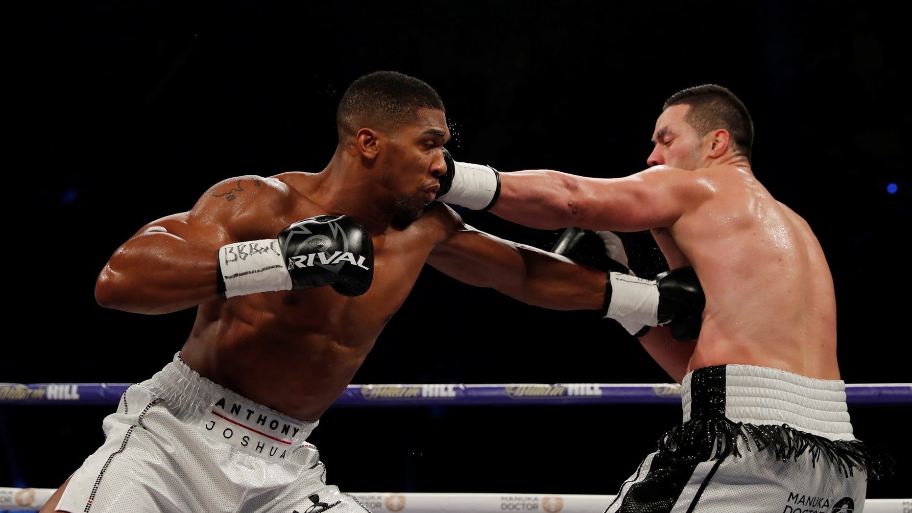 Anthony Joshua vs. Joseph Parker, the World Heavyweight Title Unification Fight, took place at Principality Stadium, Cardiff, Britain, on March 31, 2018.