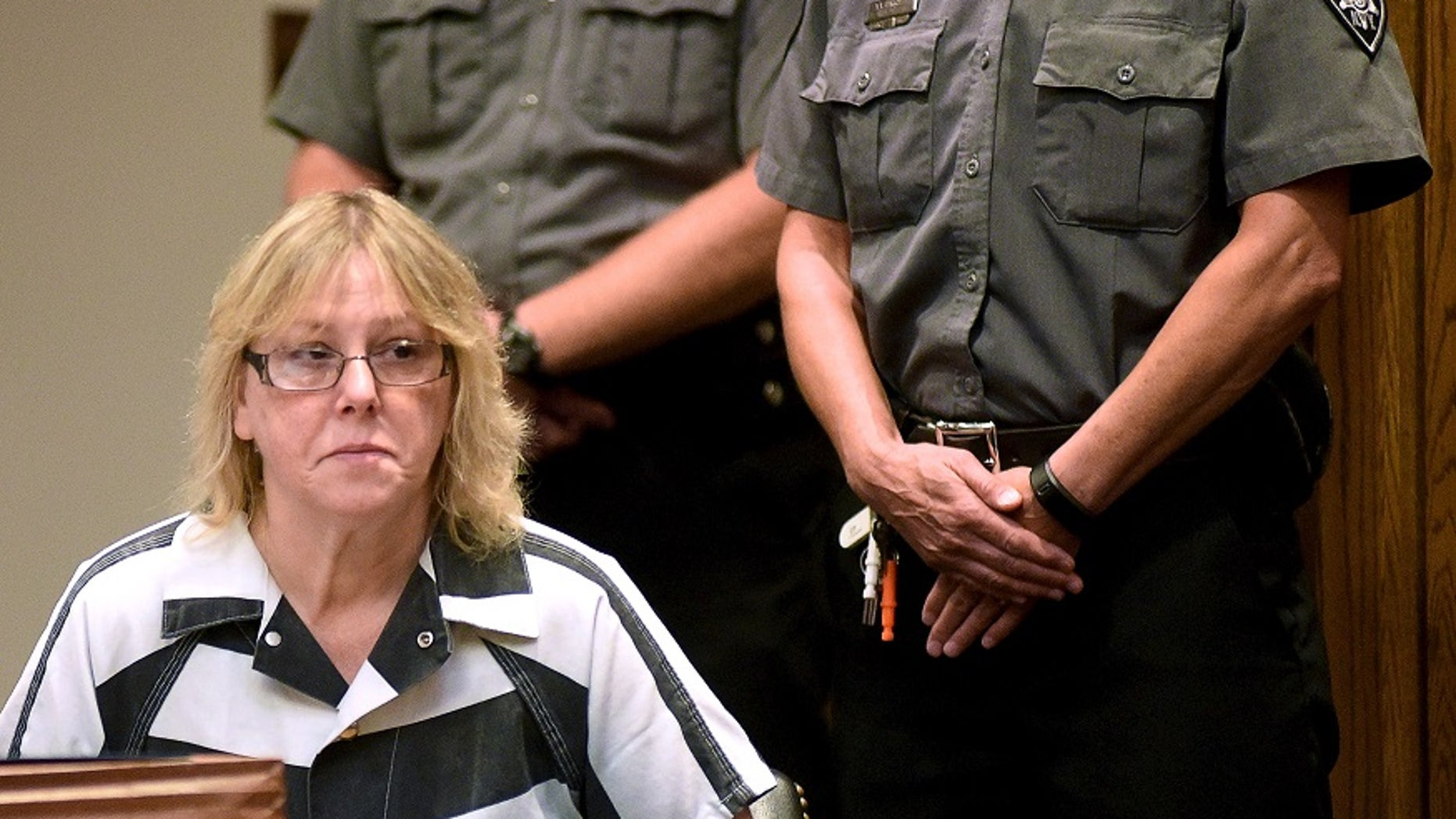Husband of Joyce Mitchell, who helped 2 NY inmates escape