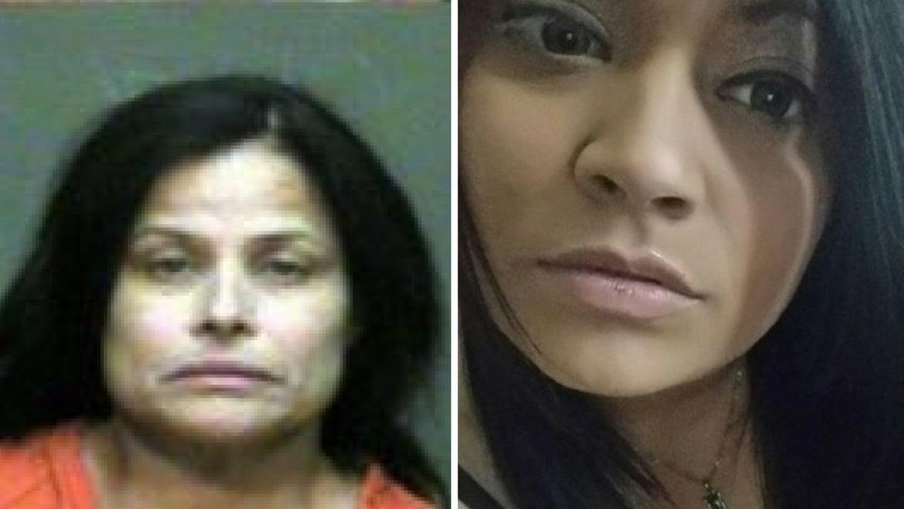 Juanita Gomez, left, was convicted of killing her daughter, Geneva Gomez, right.