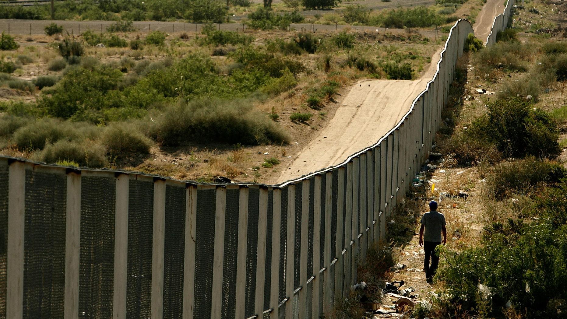 The U.S.-Mexico border at Ciudad Juárez.