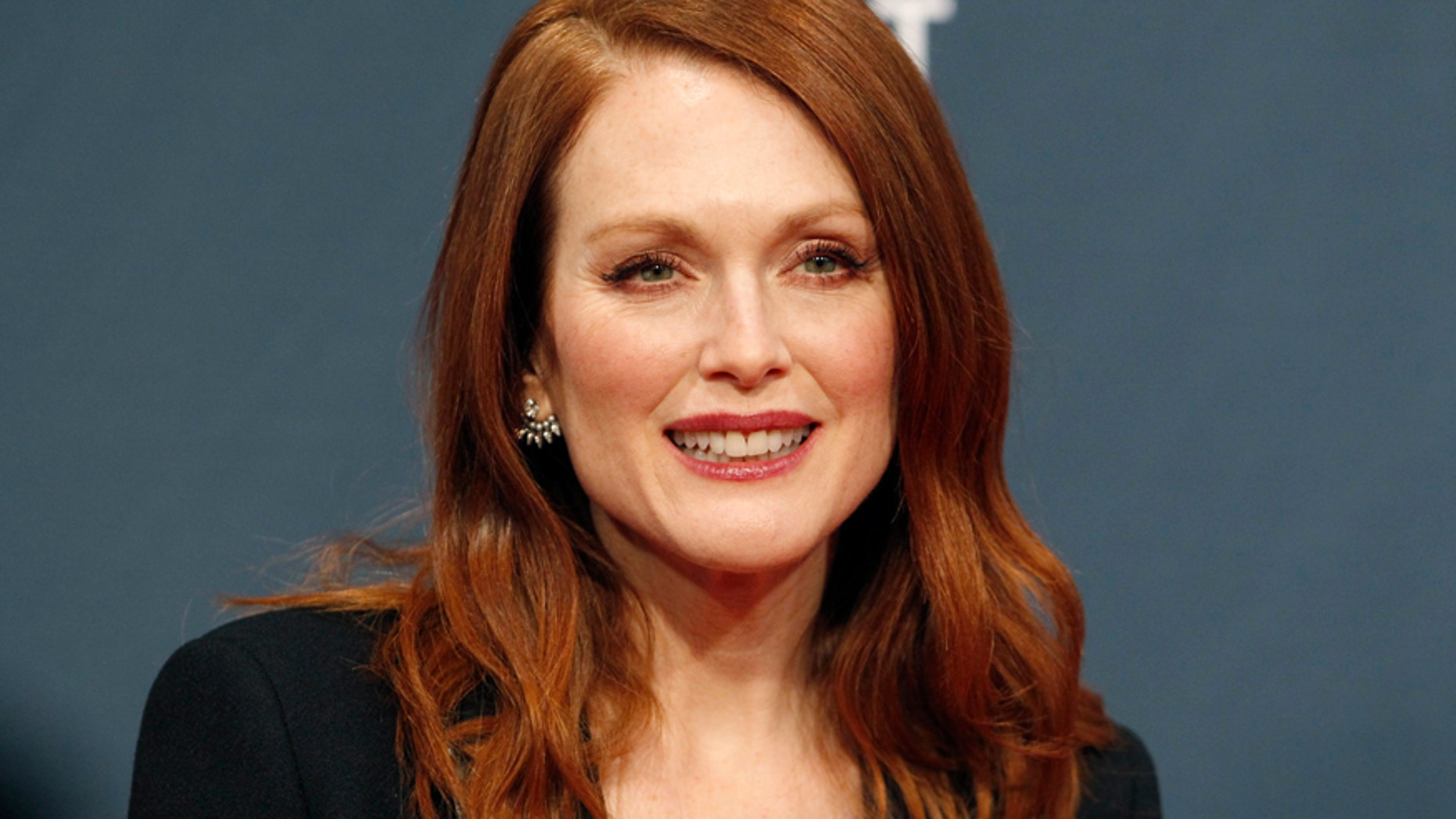 Actress Julianne Moore arrives at the 2015 Canadian Screen Awards in Toronto, March 1, 2015.