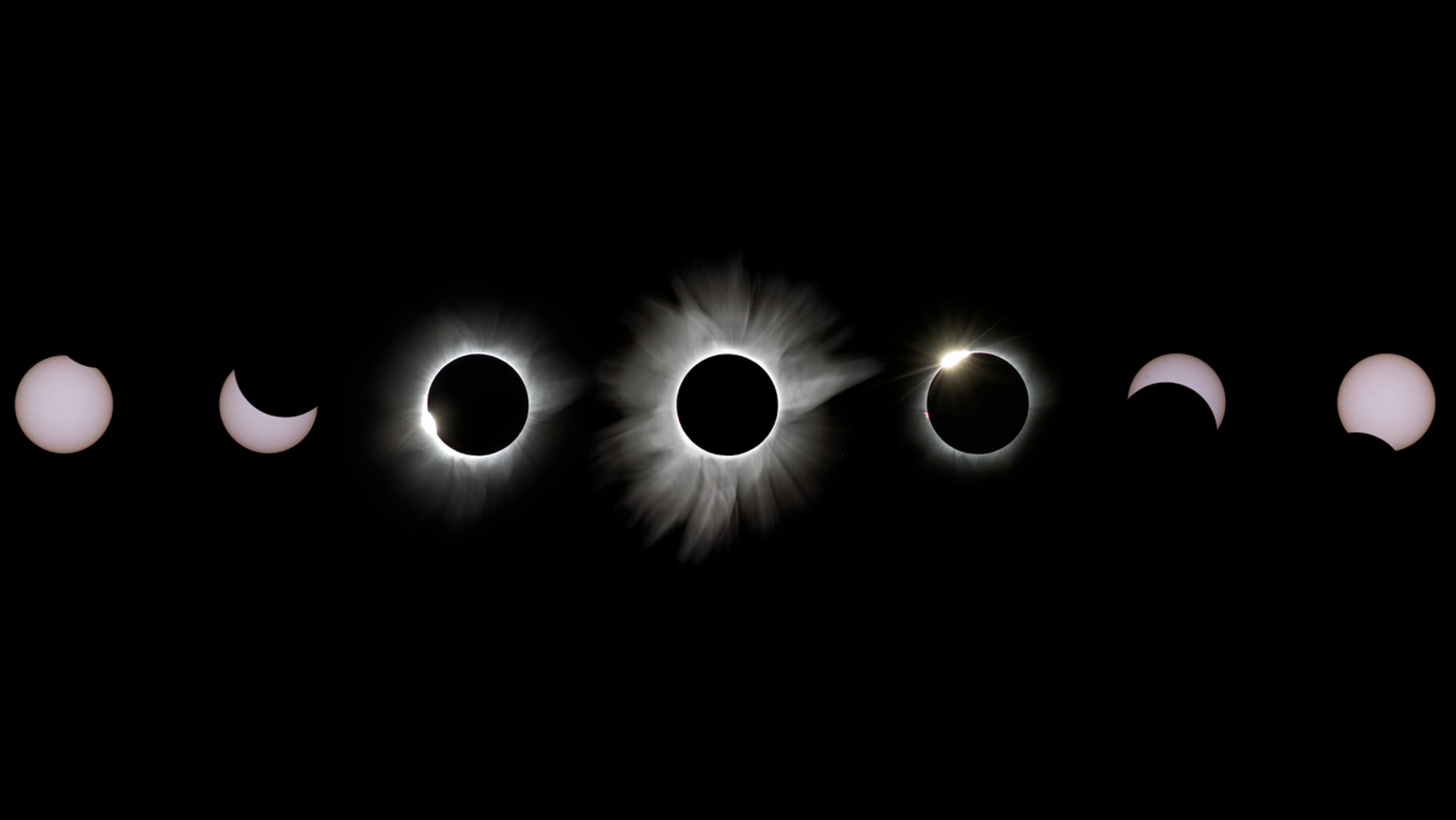 Total Solar Eclipse of March 2016 Composite Image