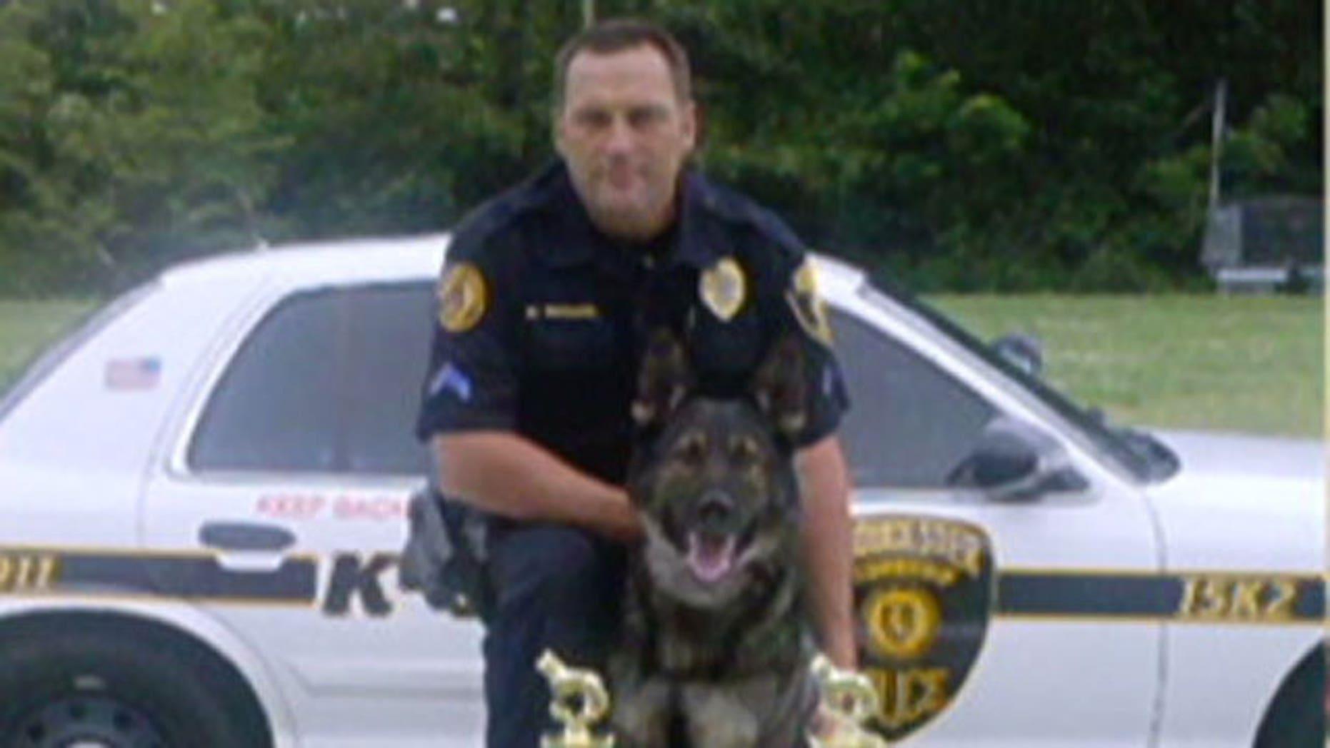 NJ K9 killed in the line of duty November 30, 2010.