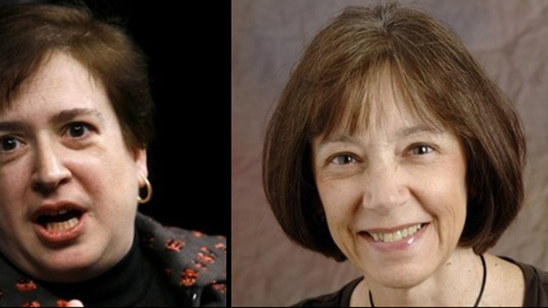 U.S. Solicitor General Elena Kagan (l), and Judge Diane Pamela Wood of the 7th U.S. Circuit Court of Appeals (r) are two of the leading candidates to replace retiring Supreme Court Justice John Paul Stevens. (AP)