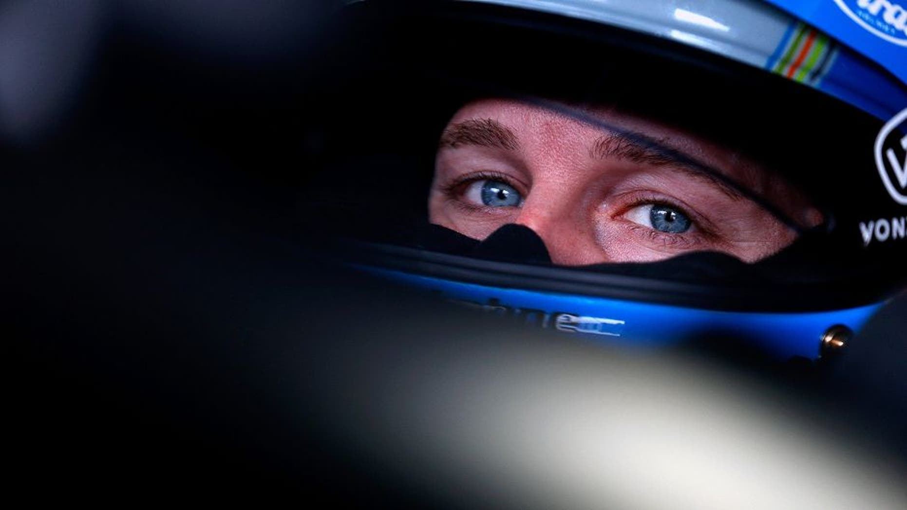 LOUDON, NH - SEPTEMBER 25: Kasey Kahne, driver of the #5 Farmers Insurance Chevrolet, sits in his car during practice for the NASCAR Sprint Cup Series Sylvania 300 at New Hampshire Motor Speedway on September 25, 2015 in Loudon, New Hampshire. (Photo by Brian Lawdermilk/NASCAR via Getty Images)