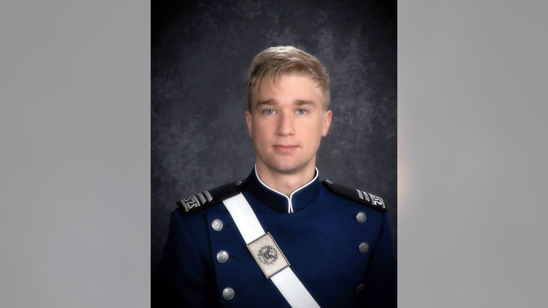 Cadet Kaleb Estes was an avid skydiver.