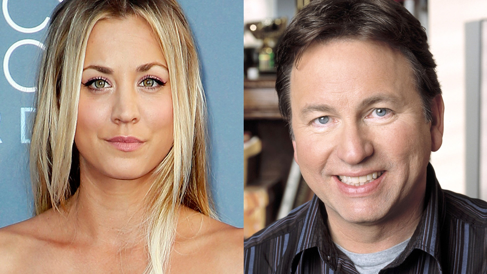 Kaley Cuoco pays tribute to her late co-star, John Ritter, with a visit to his Hollywood star on the Walk or Fame.