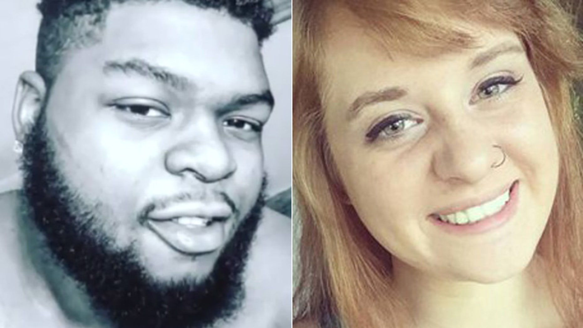 A search team found the body of Brandon Herring, left, while looking for Jessica Runions.
