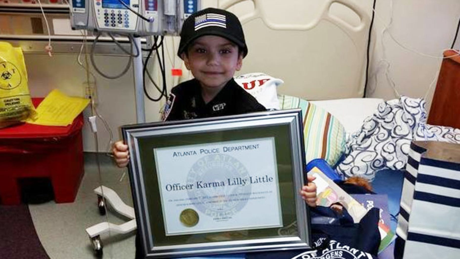 Karma Little died after a four-year battle with neuroblastoma.