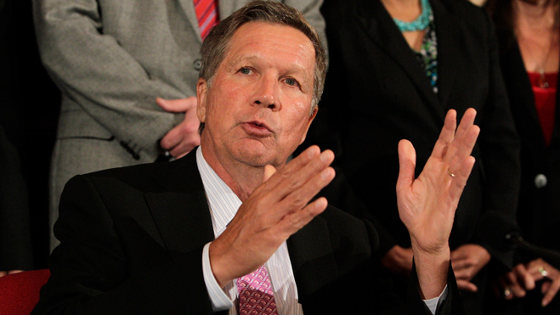 Gov. John Kasich has signed a Ohio bill into law that would ban doctors from performing abortions after a fetal diagnosis of Down syndrome.