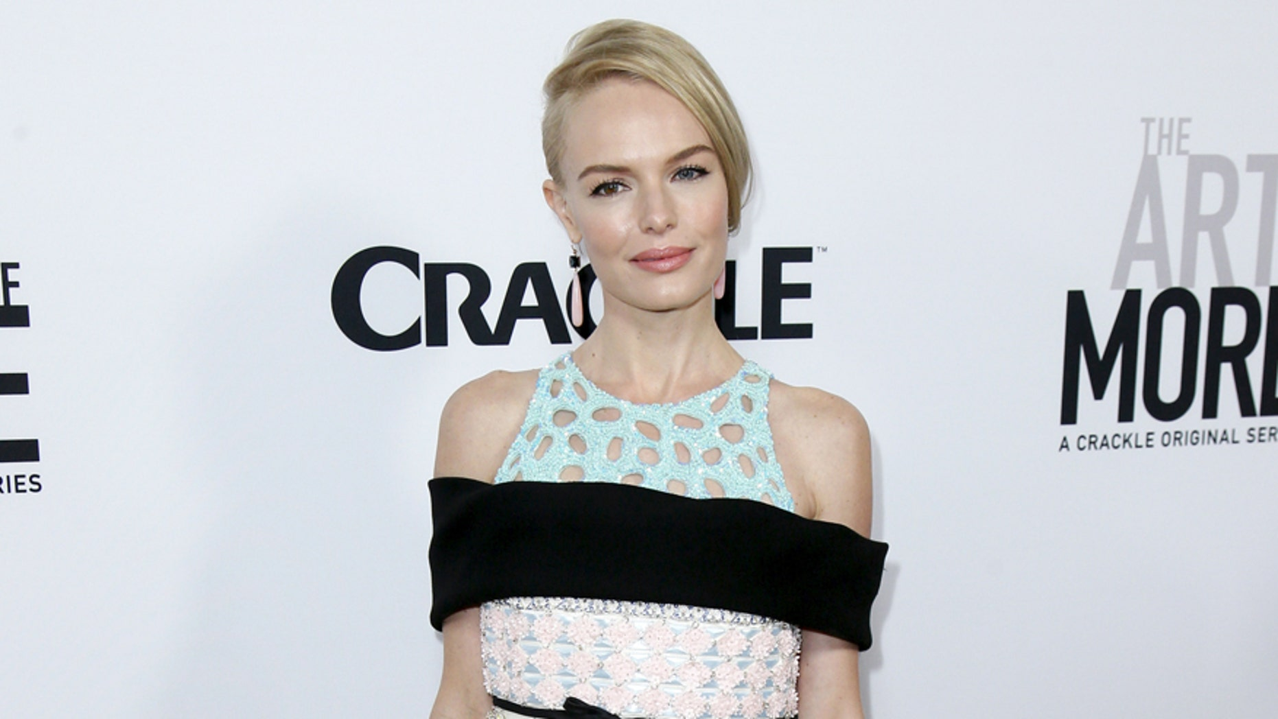 """Cast member Kate Bosworth poses at a screening of Crackle's first original scripted drama from Sony's streaming network """"The Art of More,"""" at Sony Pictures Studios in Culver City, California October 29, 2015. REUTERS/Danny Moloshok - RTX1TW6F"""