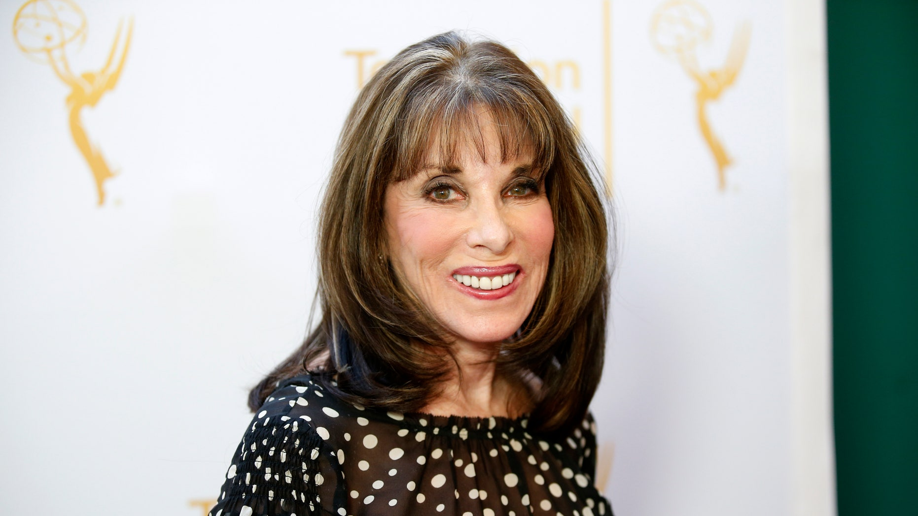 Actress Kate Linder poses at the Television Academy's Performers Peer Group cocktail reception to celebrate the 66th Primetime Emmy Awards in Beverly Hills, California July 28, 2014.   REUTERS/Danny Moloshok   (UNITED STATES - Tags: ENTERTAINMENT) - RTR40GLJ