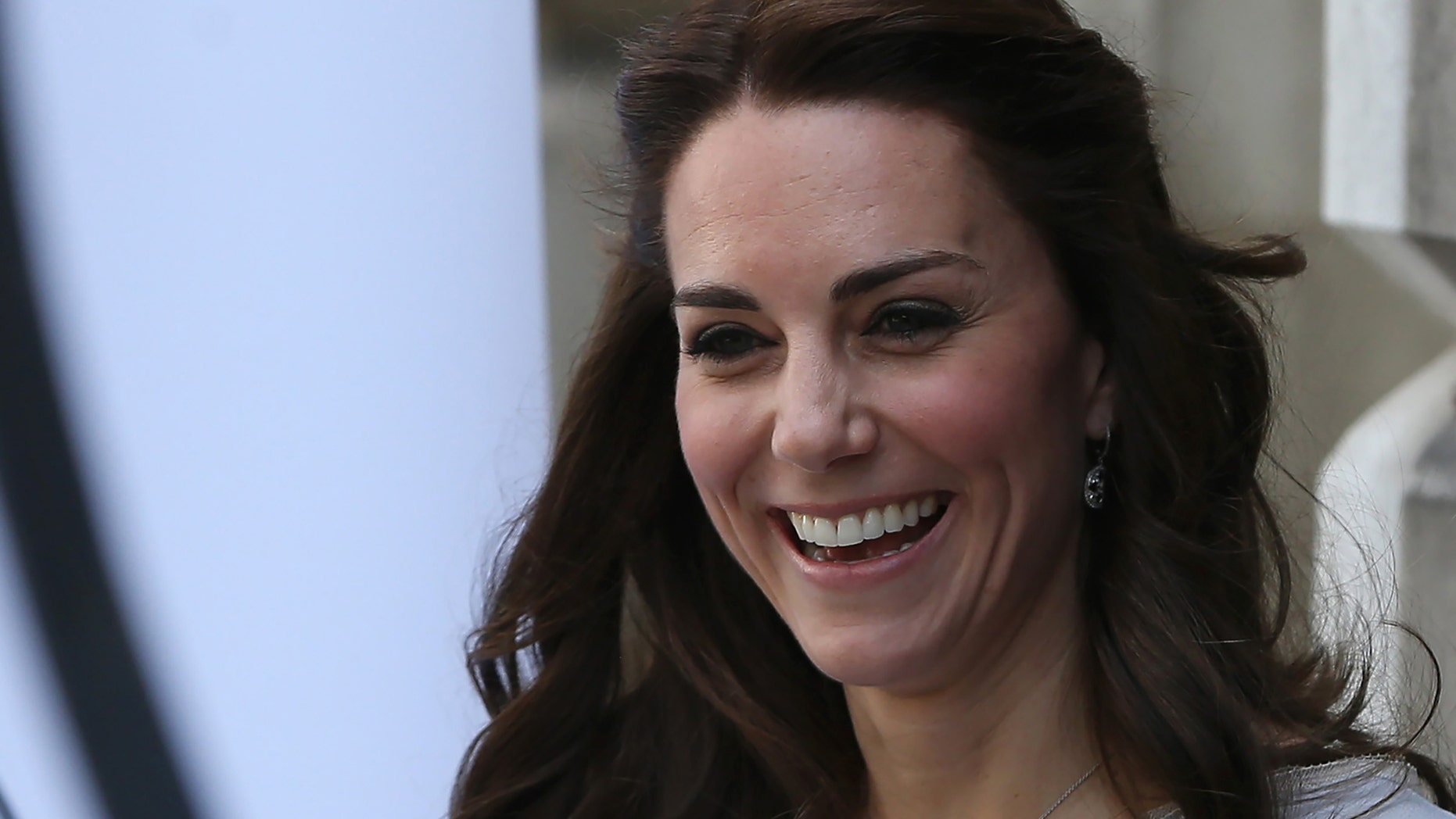 Britain's Catherine, Duchess of Cambridge arrives at an event for the Anna Freud Centre at Spencer House in London, Britain May 4, 2016.