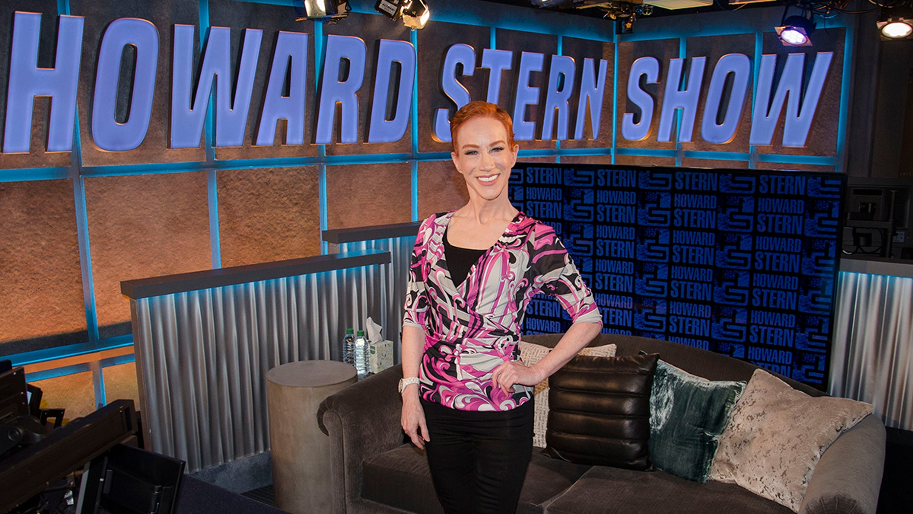 Kathy Griffin appeared on 'The Howard Stern' show to talk about her recent turmoil.