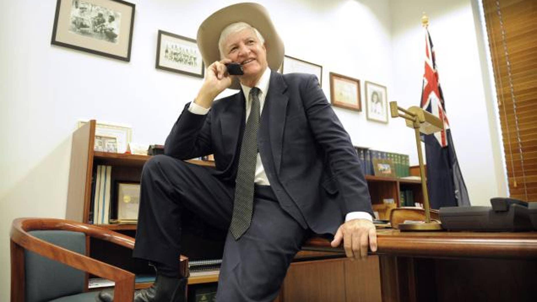 Bob Katter in 2010.
