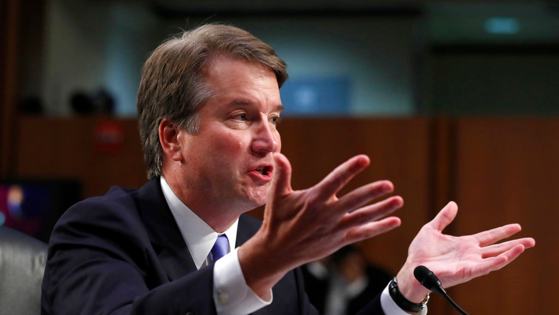 Supreme Court nominee Brett Kavanaugh was questioned Thursday over an alleged sexual assault involving Christine Blasey Ford.