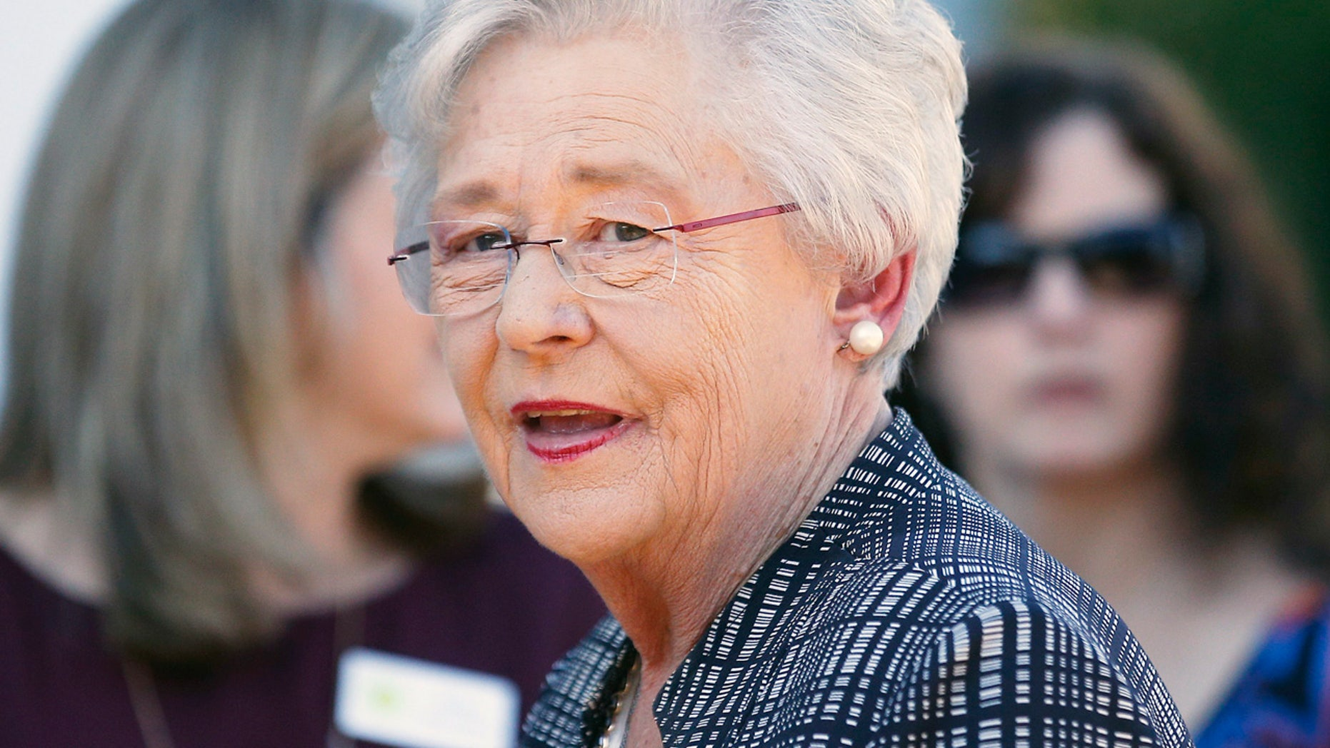 Alabama Gov. Kay Ivey took office in April 2017, after her predecessor resigned over a sex scandal.