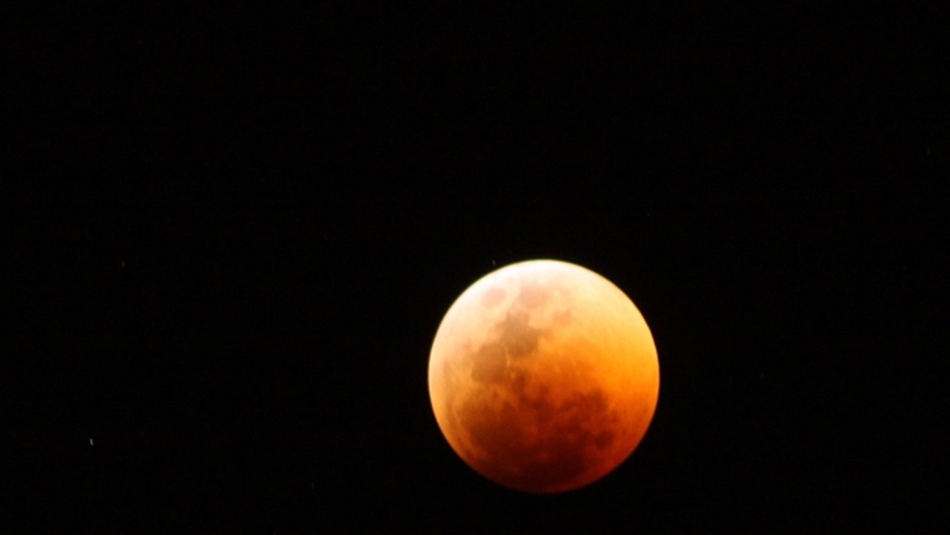 Skywatcher Derek Keats of Johannesburg, South Africa snapped this photo of the total lunar eclipse of June 15, 2011 with a Canon EOS 50D camera.