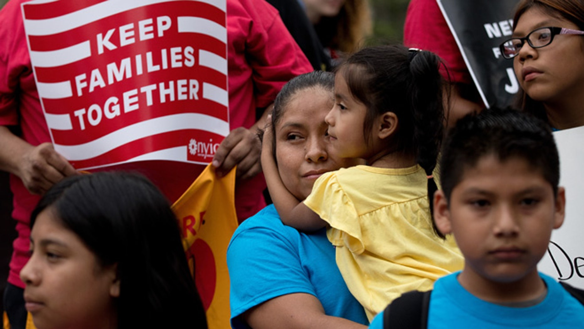 An immigration reform rally on June 28, 2016 in New York City, New York.