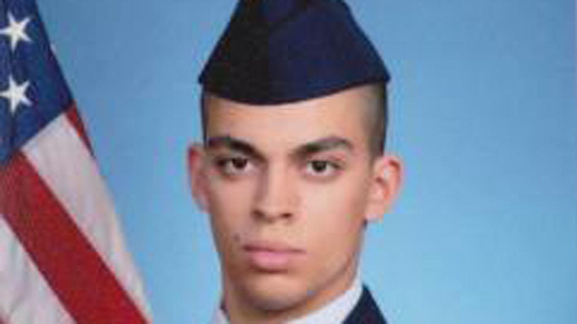 Dover Air Force senior airman Keifer Huhman disappeared Feb. 7, 2016.
