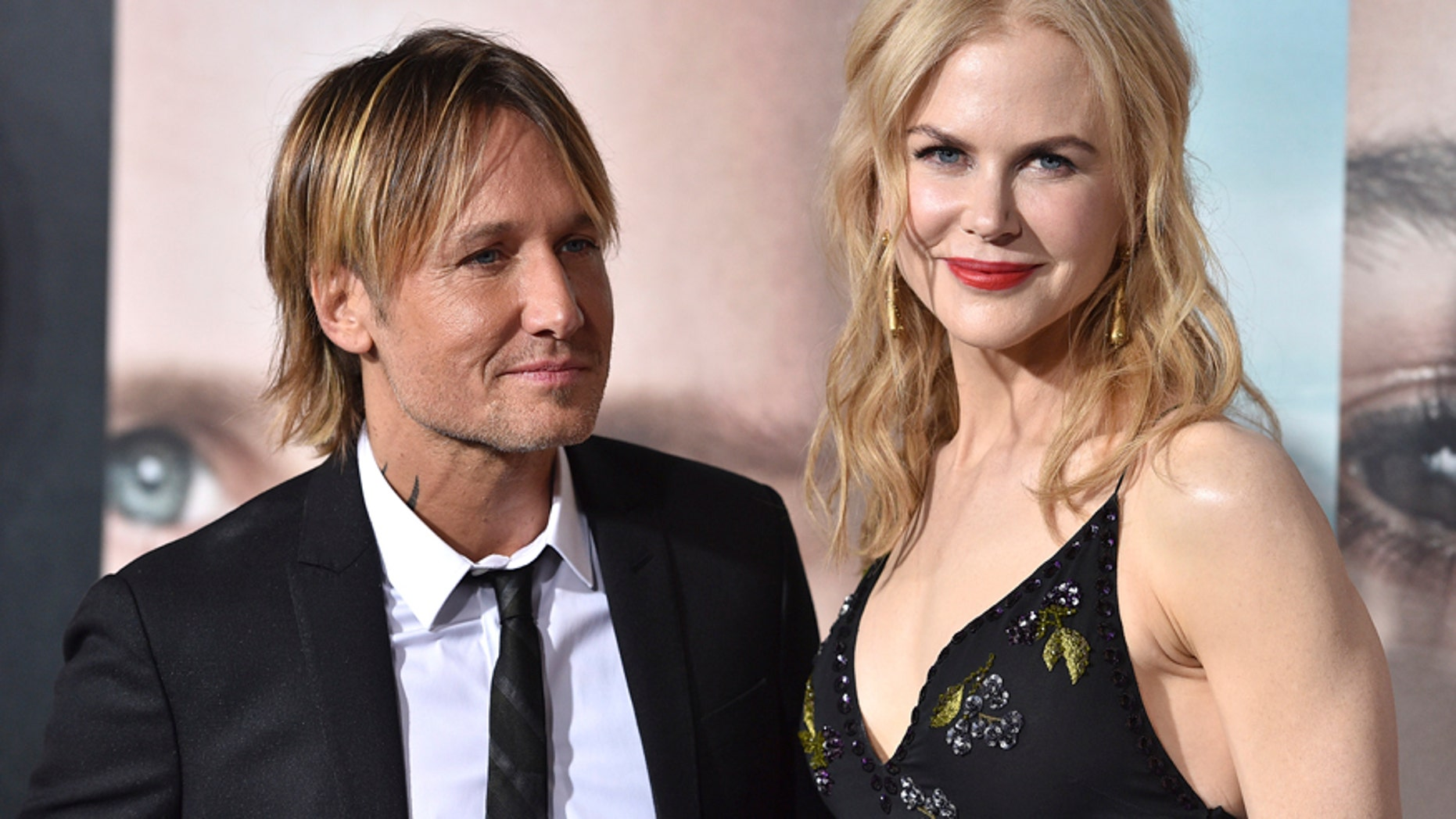 """Keith Urban, left, and Nicole Kidman arrive at the Los Angeles premiere of """"Big Little Lies"""" at the TCL Chinese Theatre on Tuesday, Feb. 7, 2017."""