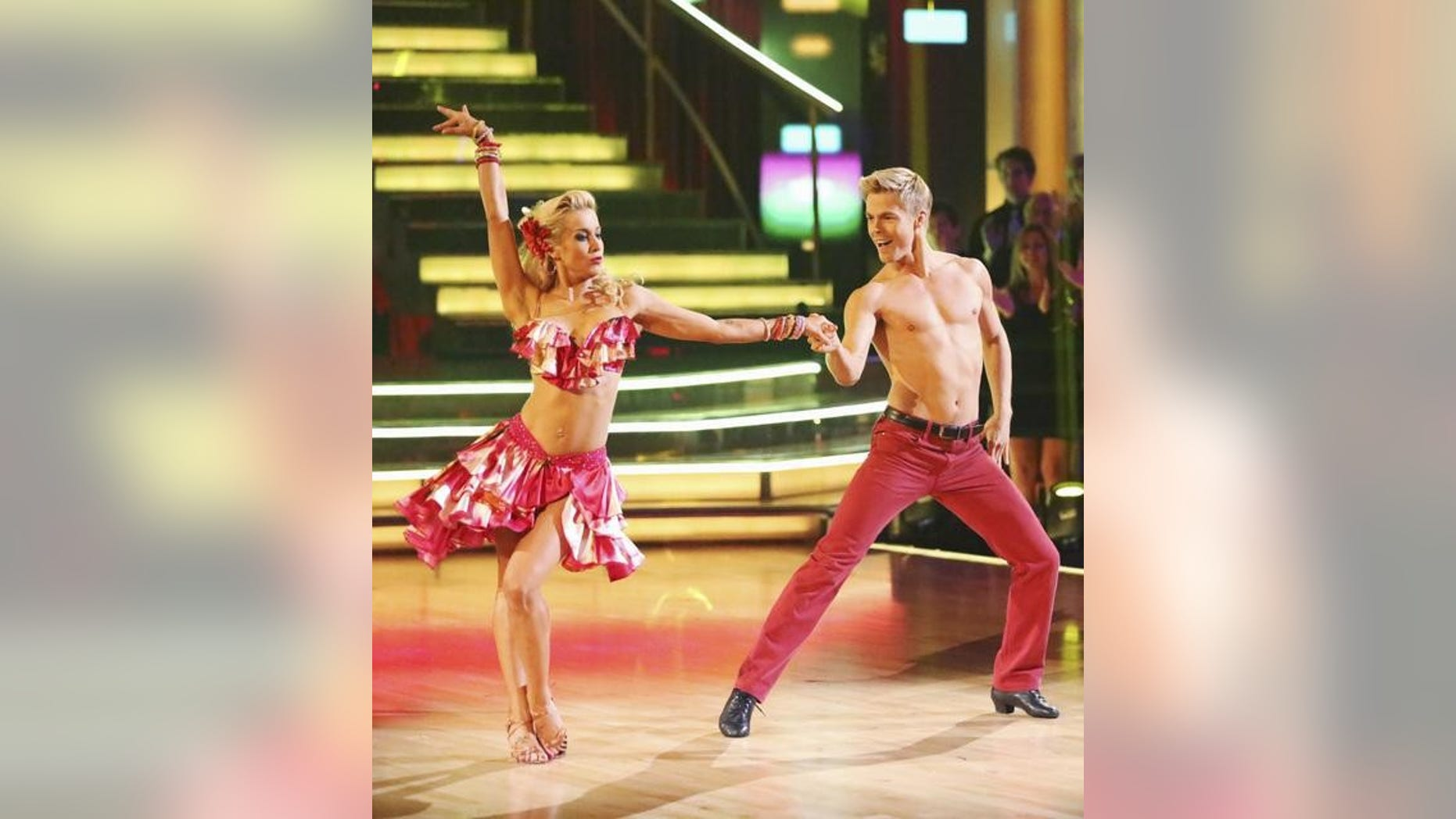 """Kellie Pickler and Derek Hough are seen on """"Dancing With the Stars."""""""