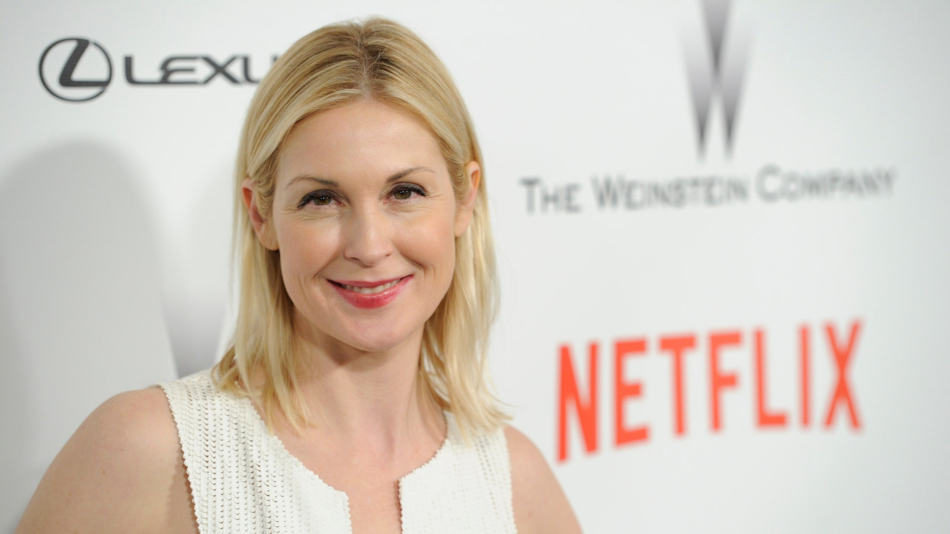 Jan. 11, 2015. Kelly Rutherford arrives at The Weinstein Company and Netflix Golden Globes afterparty at the Beverly Hilton Hotel in Beverly Hills, Calif.