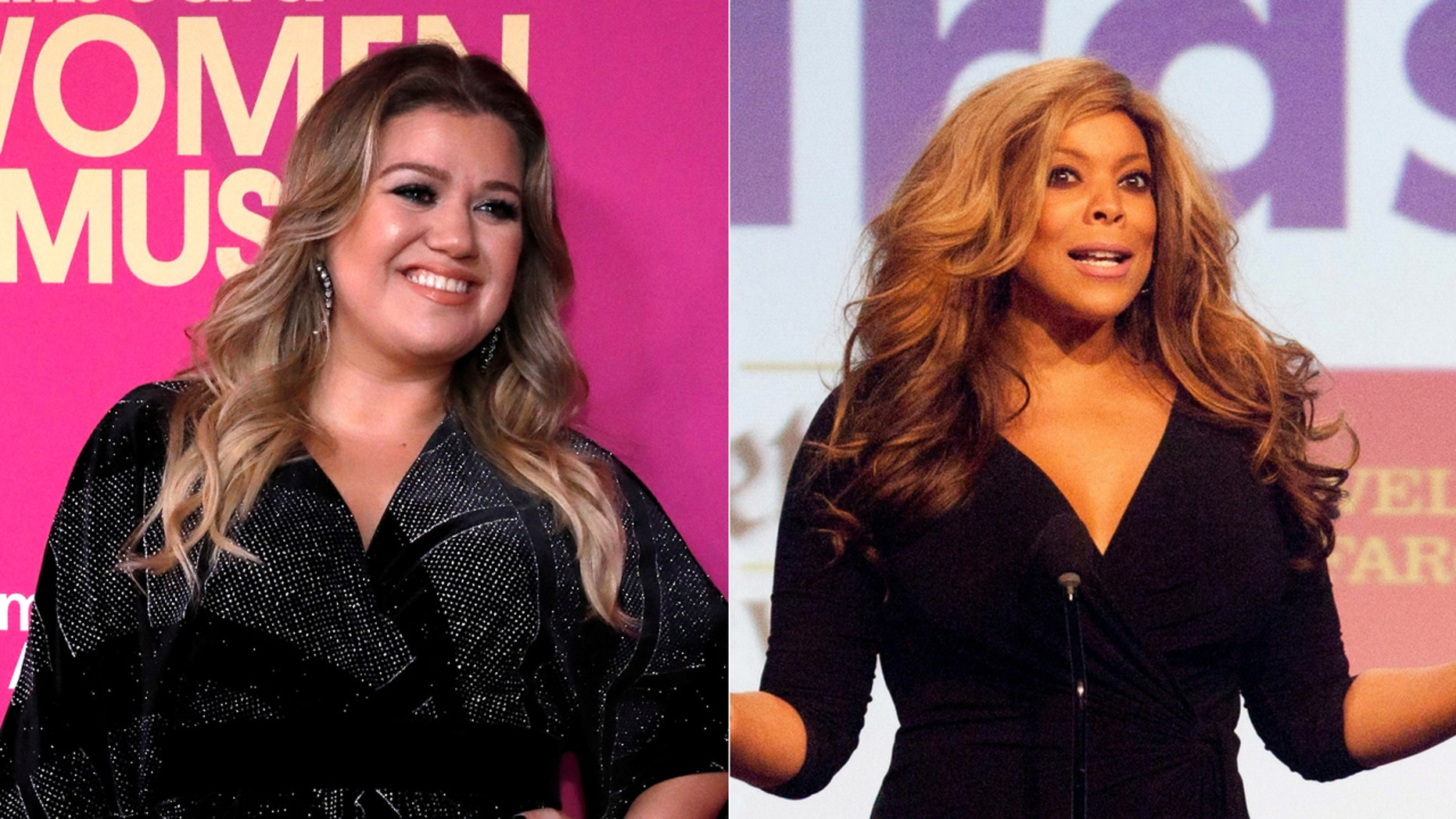 Wendy Williams made a joke about Kelly Clarkson's weight on her TV show this week.