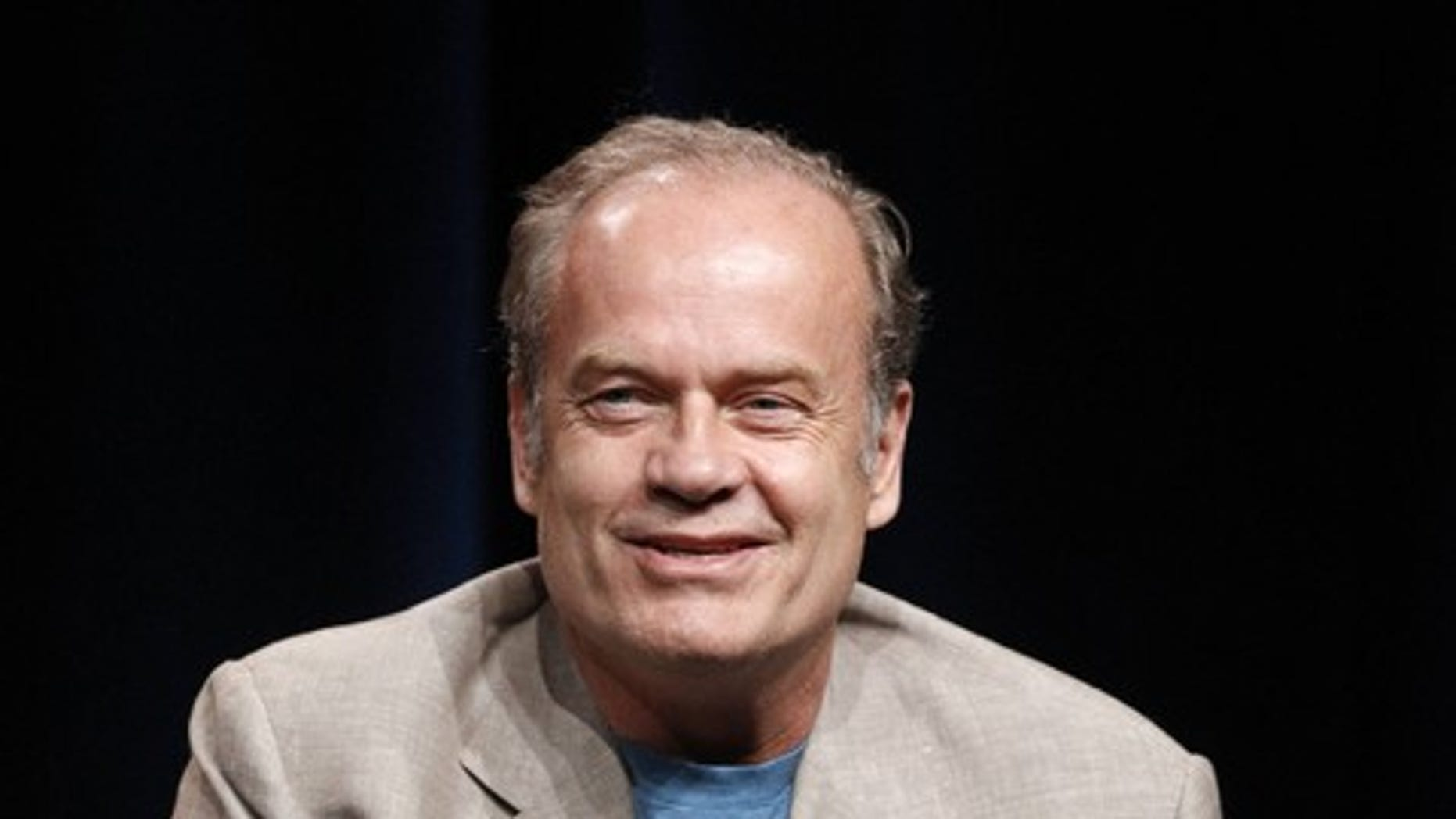 "Cast member Kelsey Grammer answers a question during the Starz session for ""Boss"" at the Summer Television Critics Association Cable Press Tour in Beverly Hills, California July 29, 2011.    REUTERS/Mario Anzuoni (UNITED STATES - Tags: ENTERTAINMENT)"
