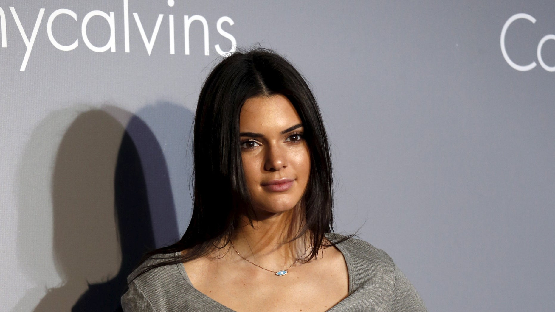 June 11, 2015. American fashion model and television personality Kendall Jenner looks on as she attends a music event hosted by Calvin Klein Jeans in Hong Kong.