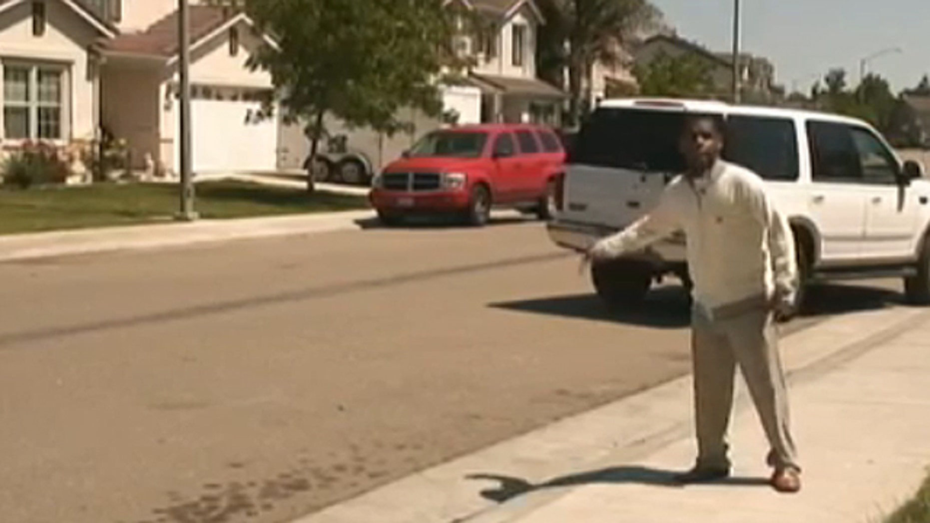 Kenneth Wright, who could not be reached for comment on Wednesday, told ABC News 10/KXTV he does not have a criminal record and had no reason to believe what he thought was a SWAT team would be breaking down his door before dawn. But according to a federal search warrant provided to the station by Wright, the Wrights are being investigated for alleged financial aid fraud. (ABC News 10/KXTV)
