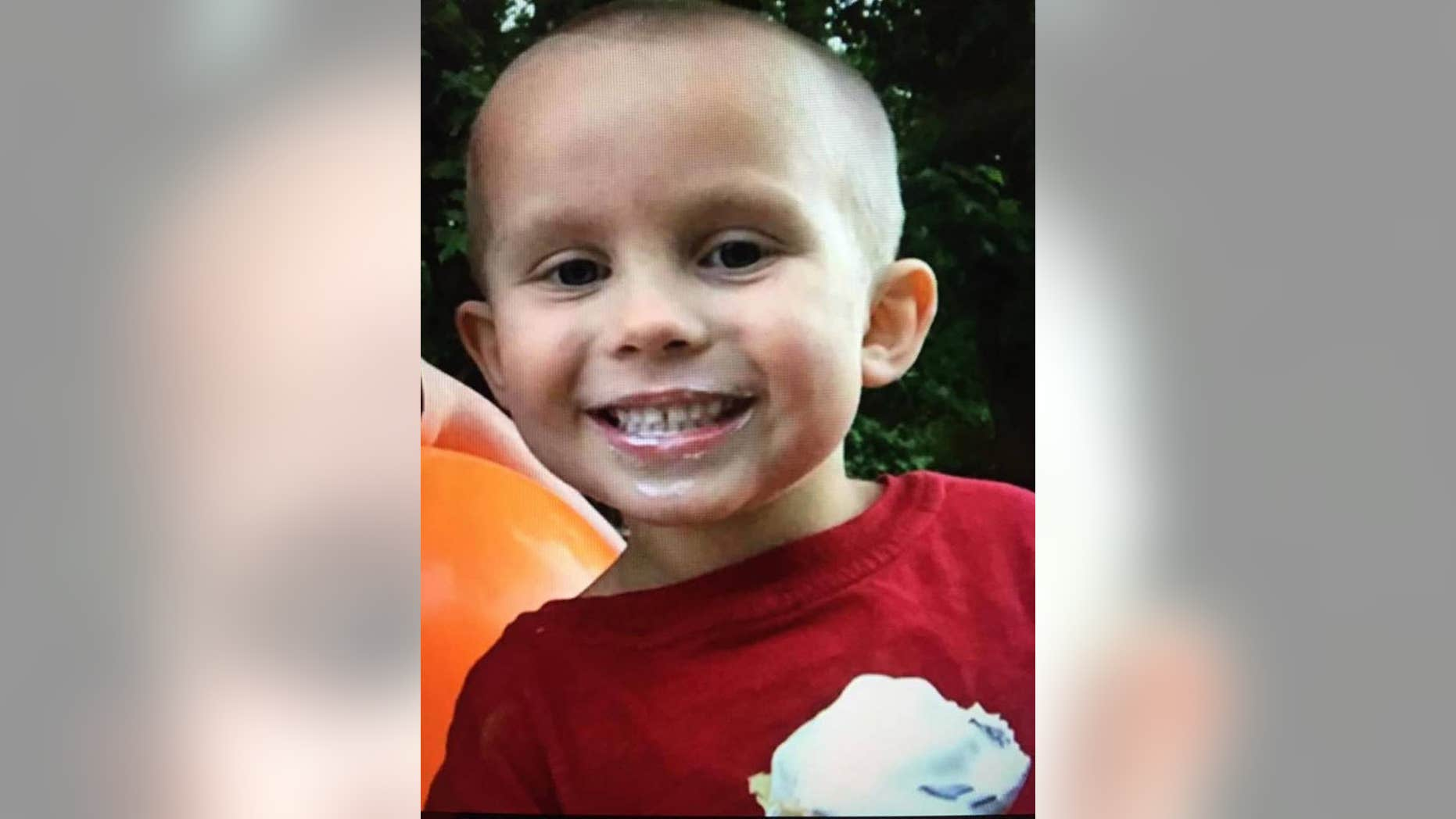 James Spoonamore, 5, had been missing for days before his body was found.