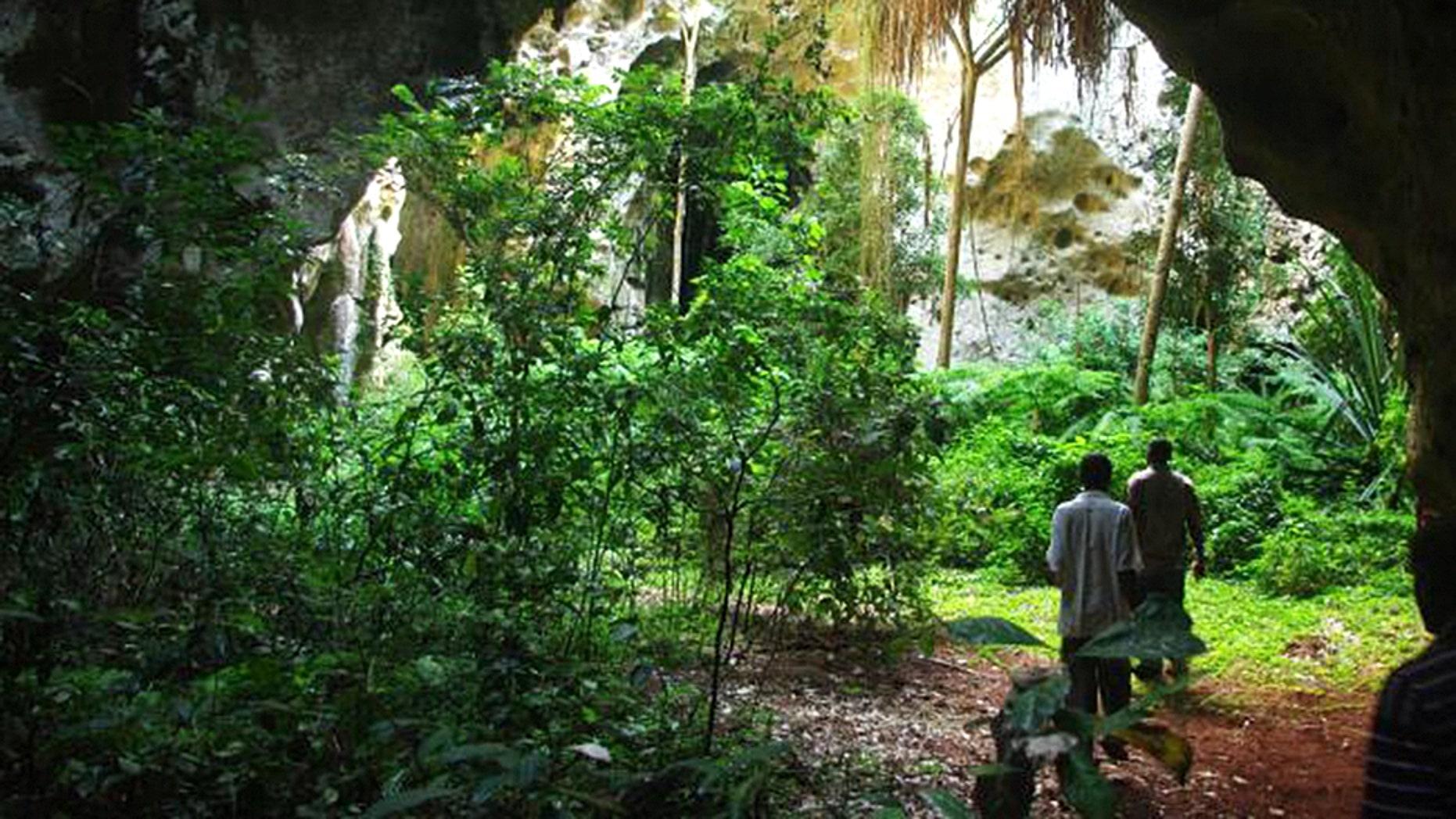 Kenya Caves (Credit: Australian National University)
